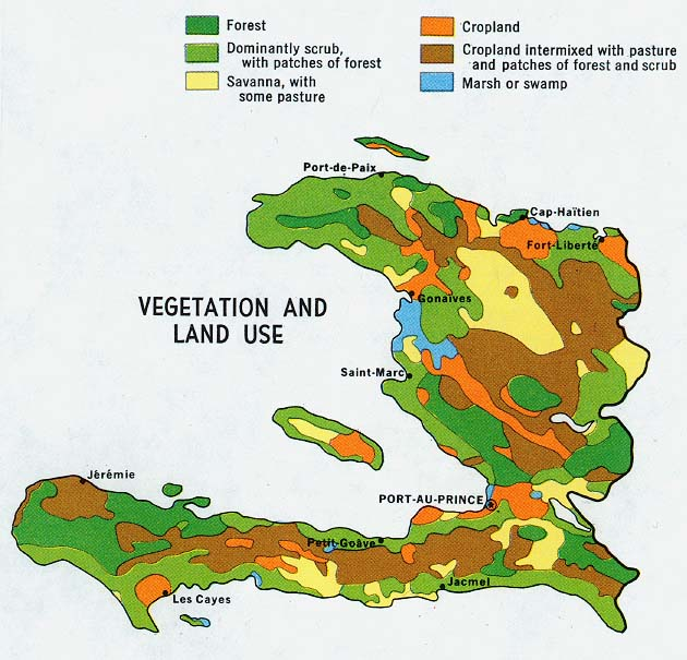 Haiti Maps PerryCastañeda Map Collection UT Library Online - Haiti maps
