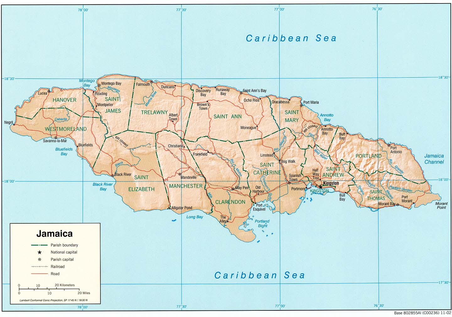 jamaica maps. jamaica maps  perrycastañeda map collection  ut library online