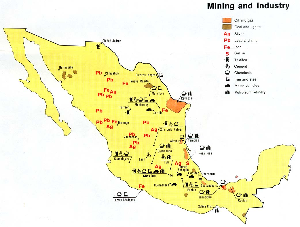 Natural Resources By Value In Texas And Venezuela