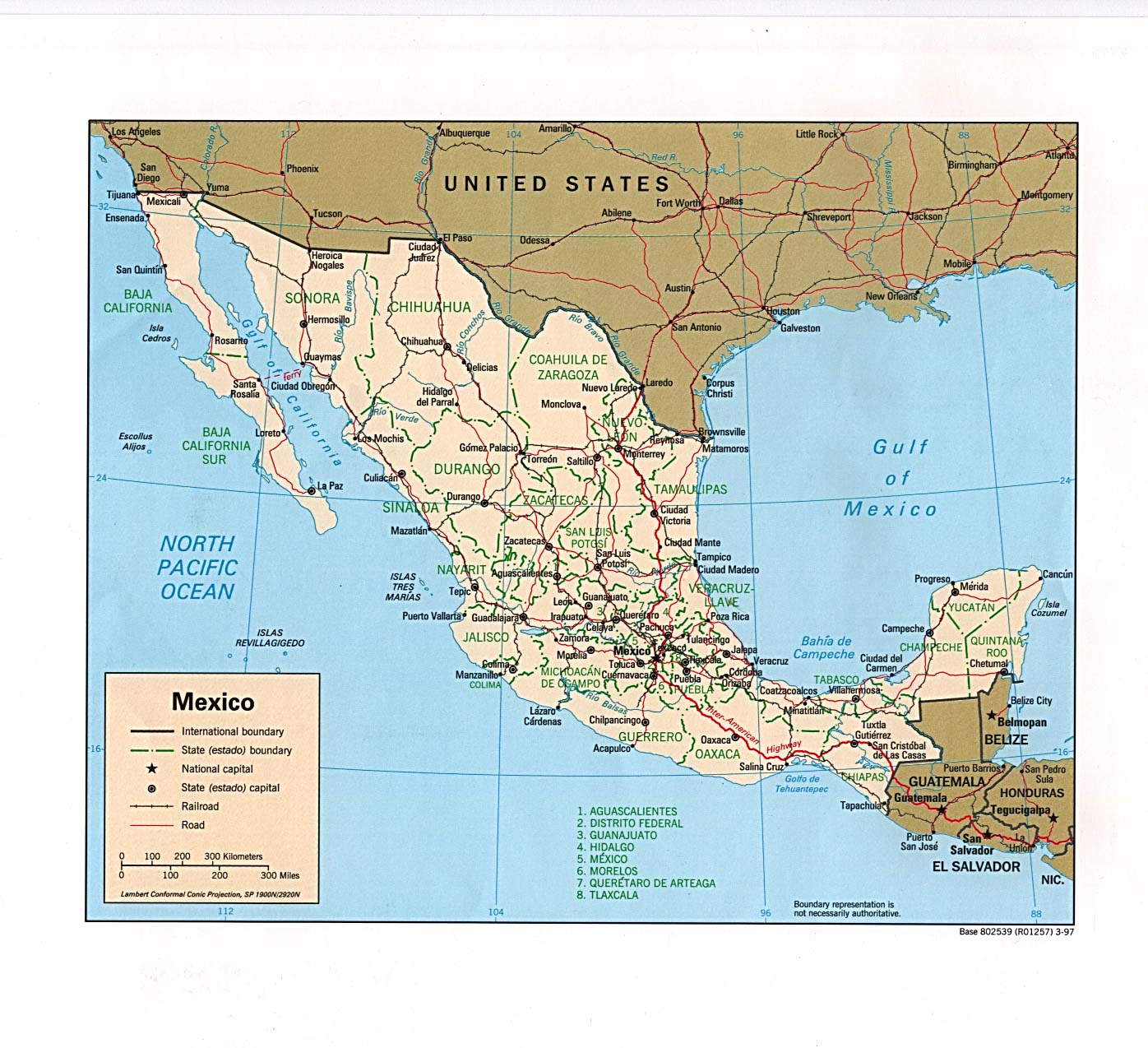 Map Of Us Mexico Border Crossings.Photographs