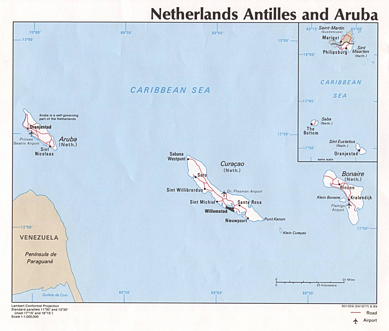 Maps Of Aruba