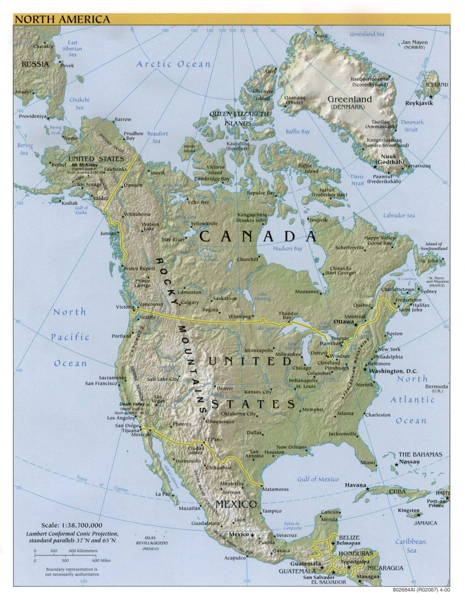 Americas Maps Perry Castaneda Map Collection Ut Library Online - Mt-mckinley-on-us-map