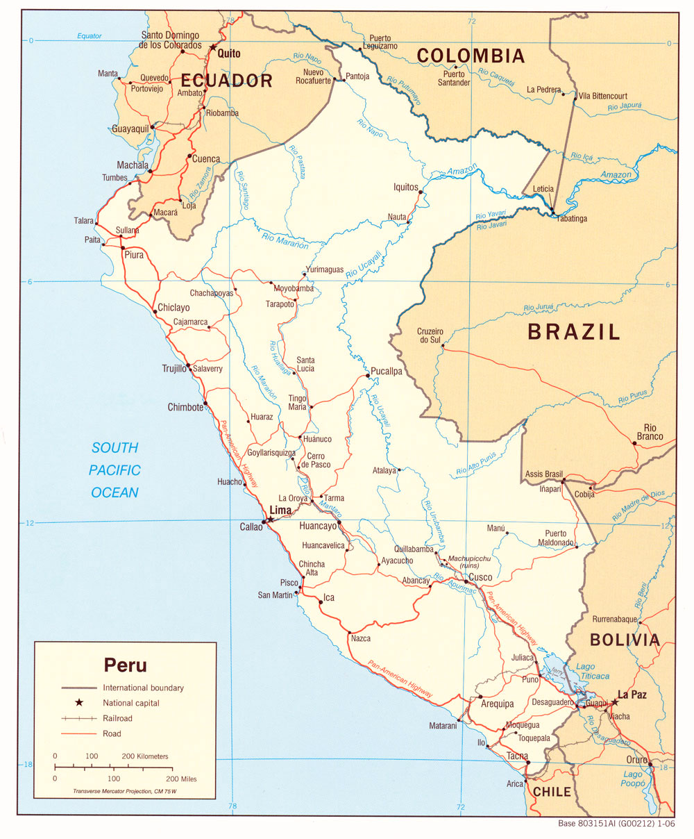 Maps Of Peru The Expat Peru Social Network