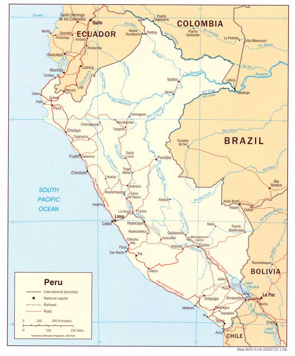 State Department Travel Peru