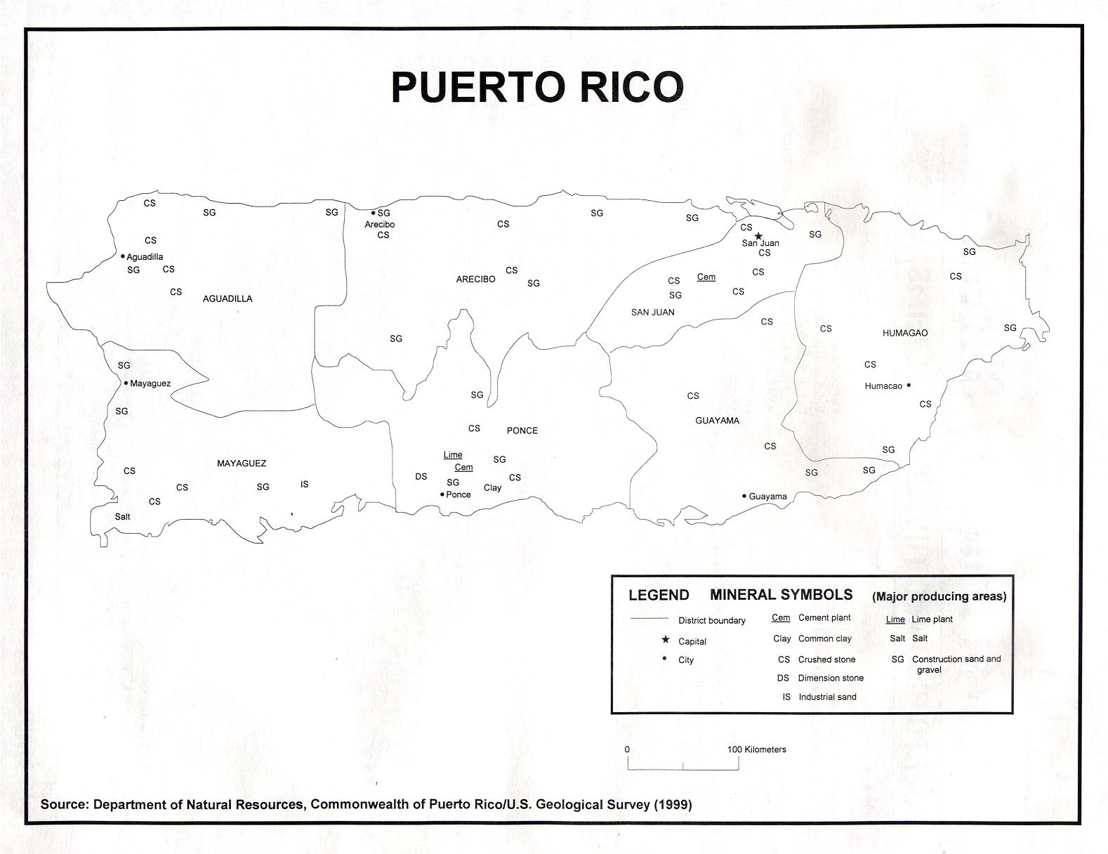 Puerto Rico Maps PerryCastañeda Map Collection UT Library Online - Puerto rico cities towns map