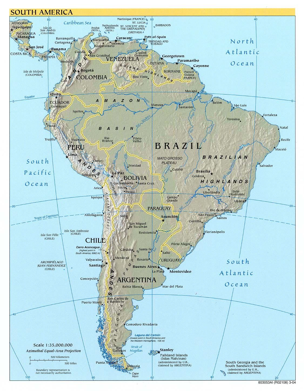 Cartina Fisica America Latina.Frank S Compulsive Guide To Postal Addresses