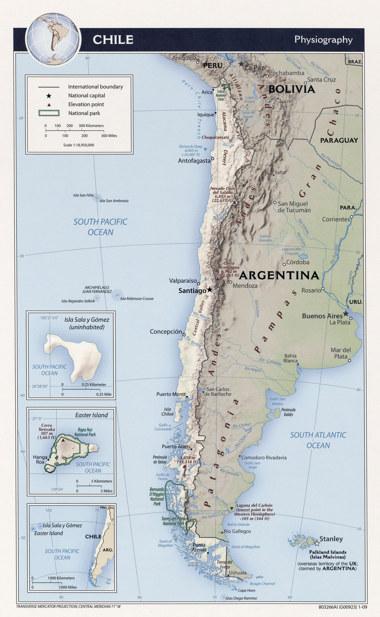 Most Populous Cities In Chile Escape America Now - Chile cities maps