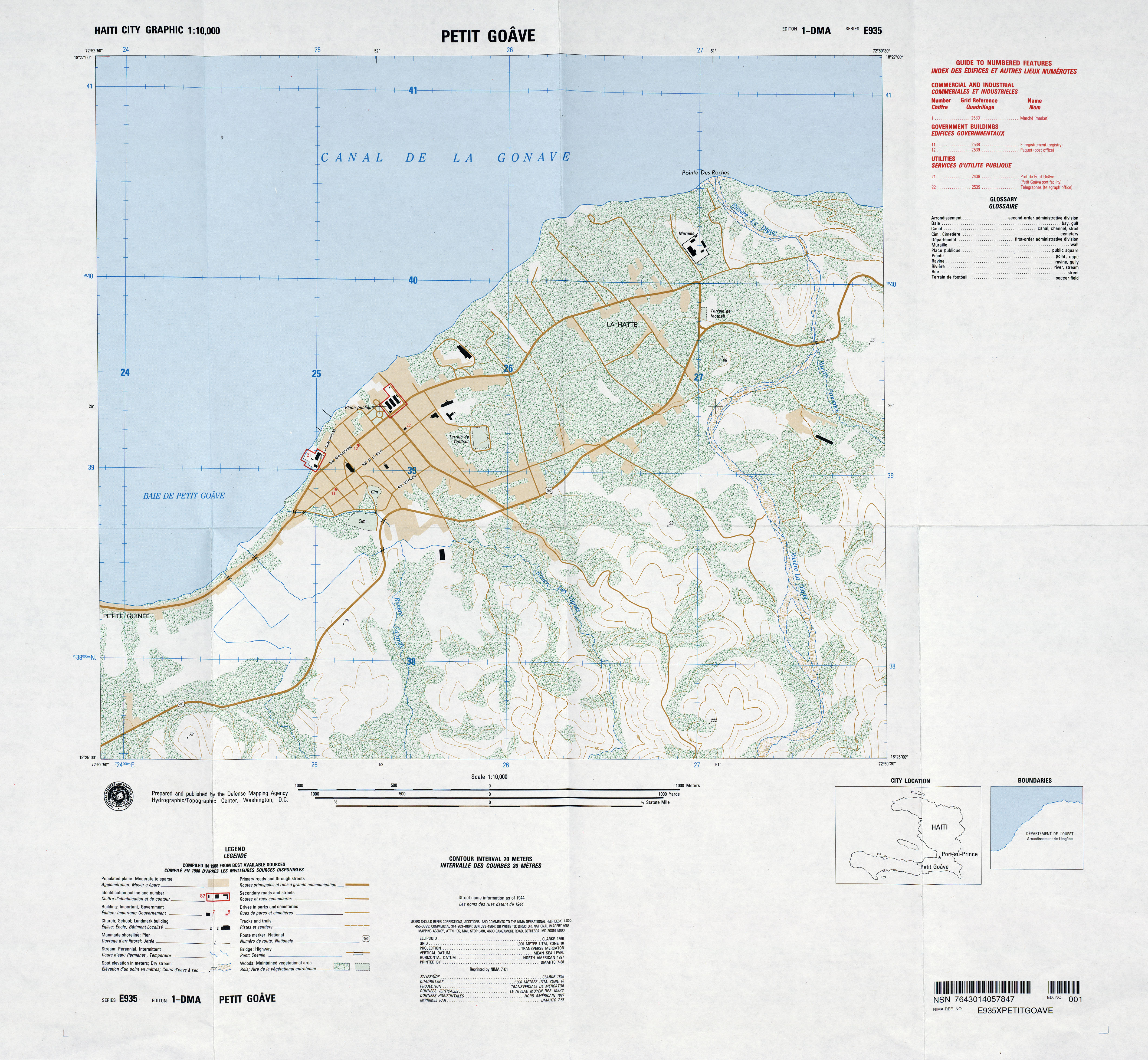 Haiti Maps - Perry-Castañeda Map Collection - UT Library Online