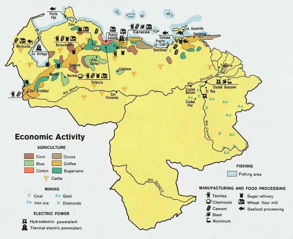 Venezuela Maps Perry Castaneda Map Collection Ut Library Online