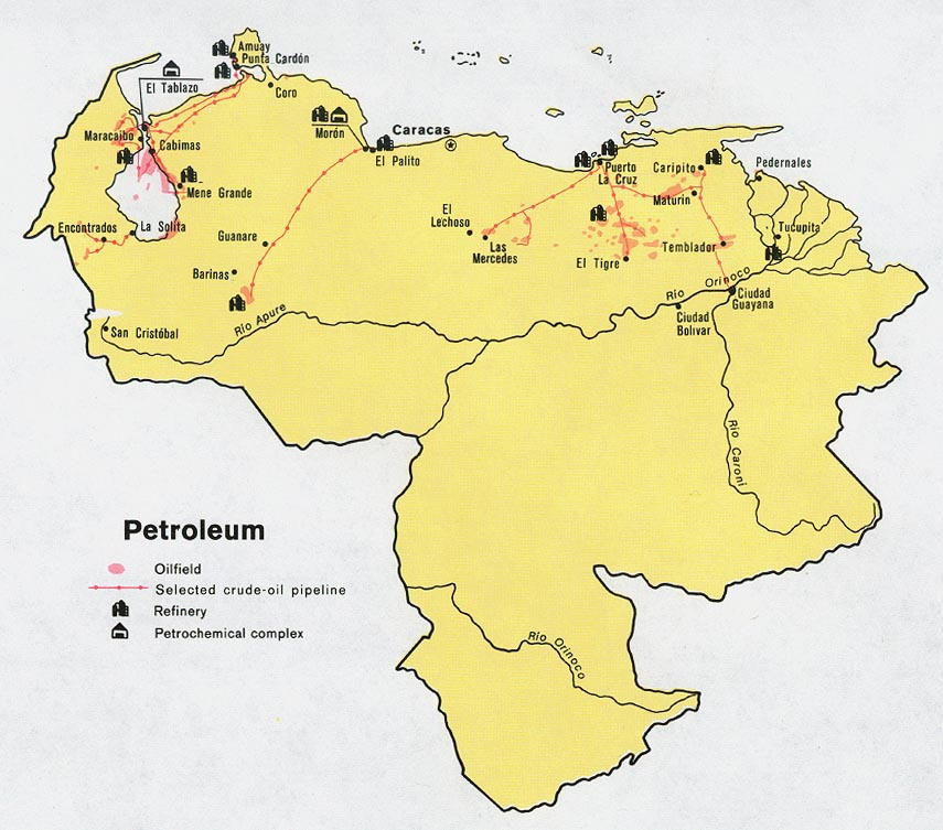 Venezuela Maps - Perry-Castañeda Map Collection - UT Library Online