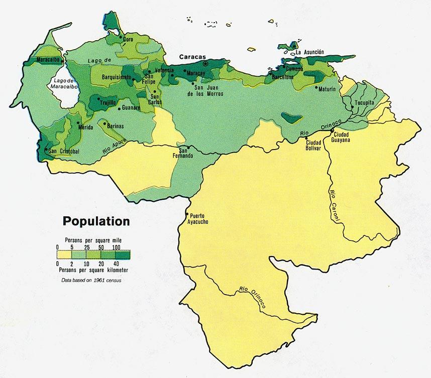 Venezuela población.