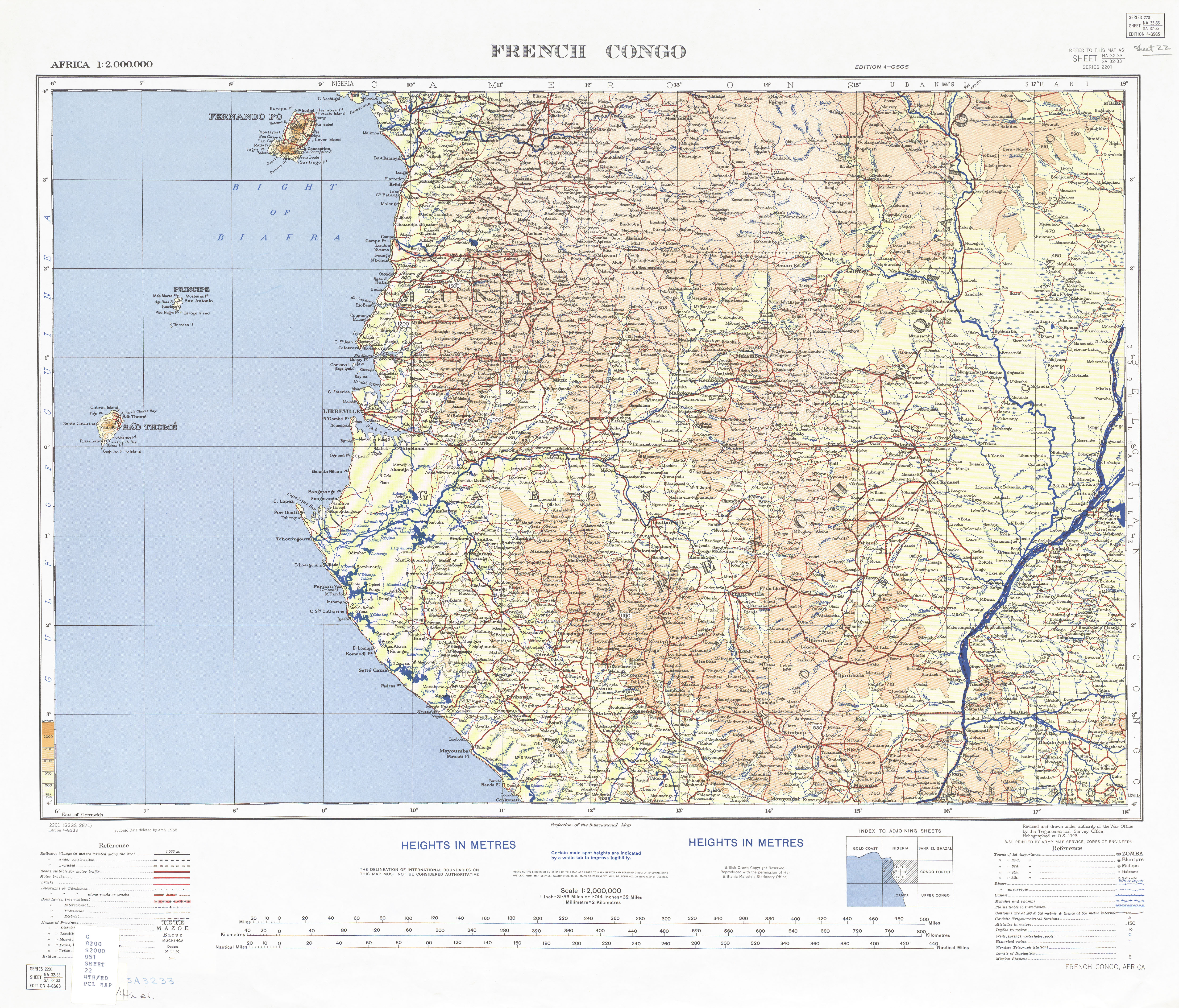 Sao Tome and Principe Maps - Perry-Castañeda Map Collection ... Map Of Rio Muni on map of gozo island, map of hainan island, map of symi, map of isle of pines, map of bhutan, map of tahaa, map of gambia, map of togo, map of algeria, map of tristan da cunha, map of reunion, map of singapore, map of banks island, map of mongolia, map of ascension, map of latvia, map of central african republic, map of kalymnos, map of southwest nigeria, map of bahrain,