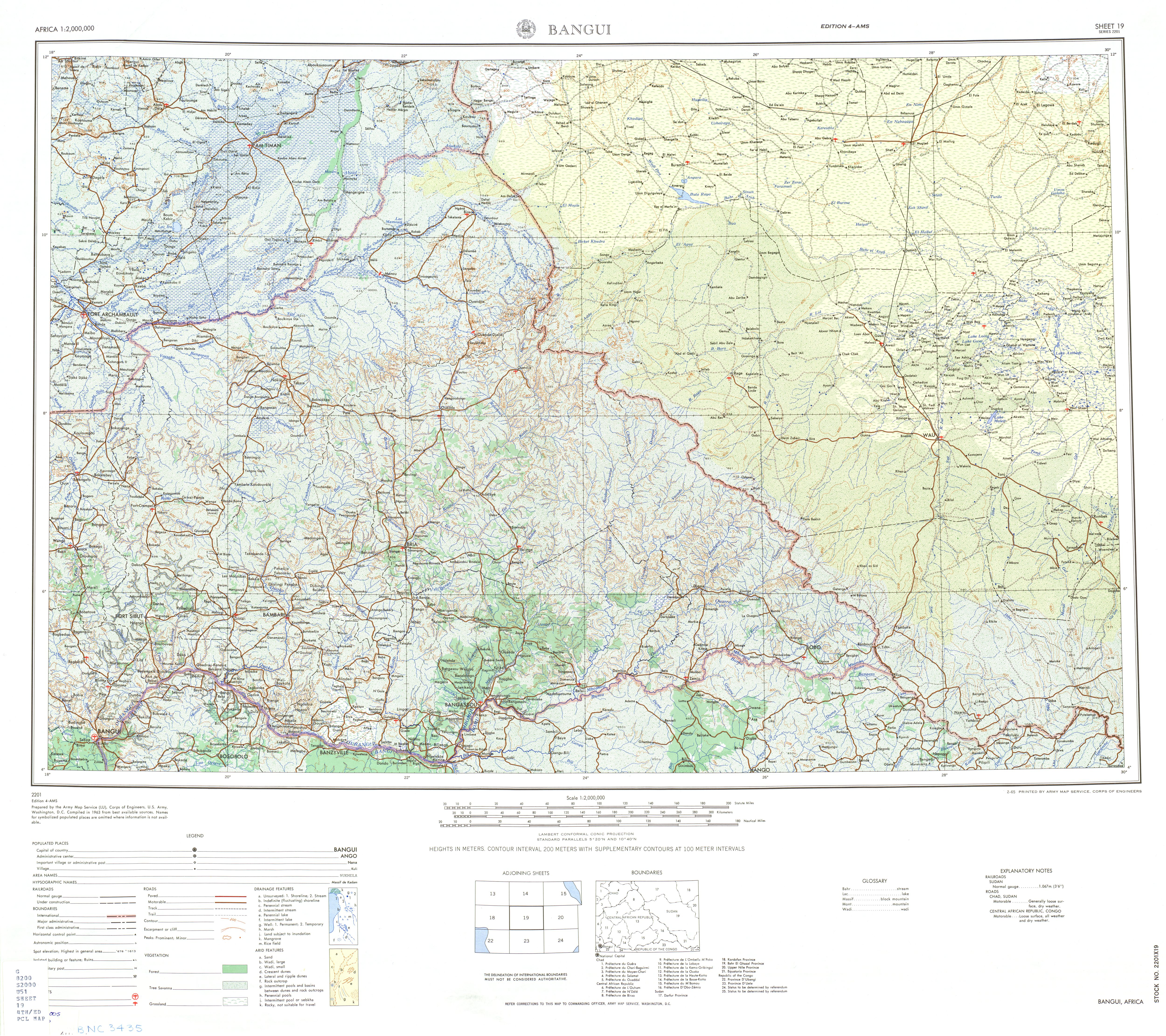 Africa AMS Topographic Maps PerryCastañeda Map Collection UT - Images map sheets of us