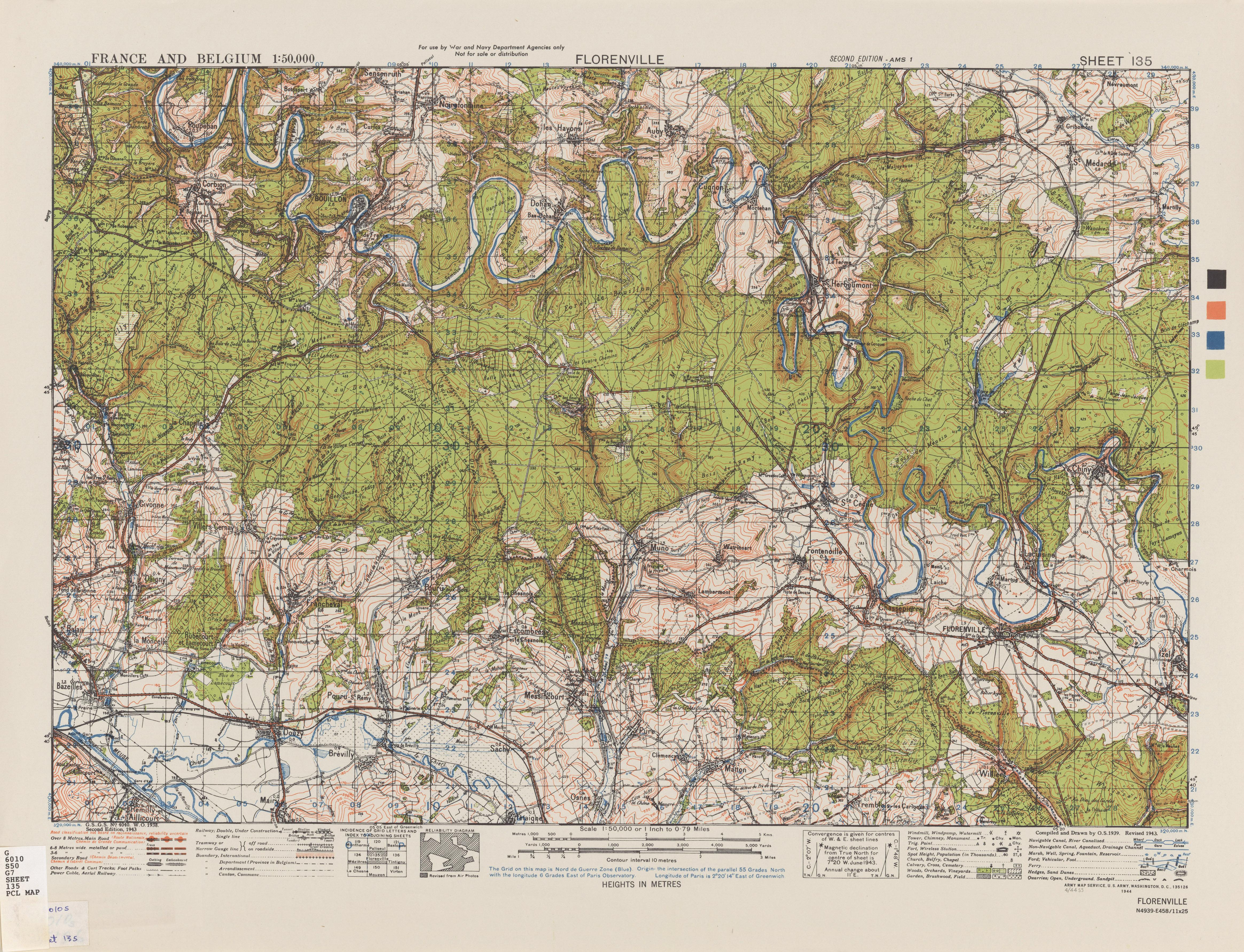 Belgium AMS Topographic Maps PerryCasta eda Map Collection UT – Belgium Topographic Map