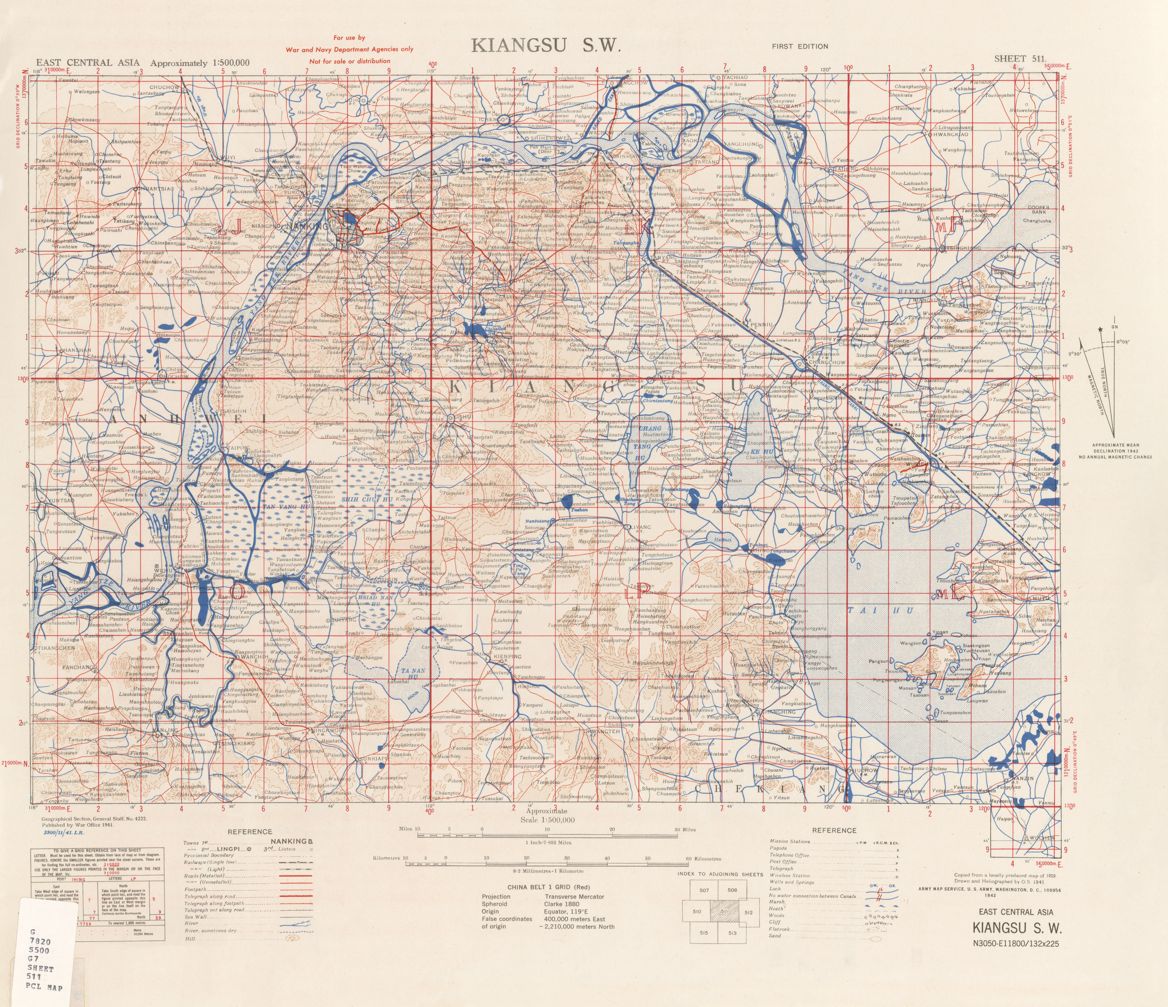 East Asia Meets The Southwest: East Central Asia [China] Topographic Maps