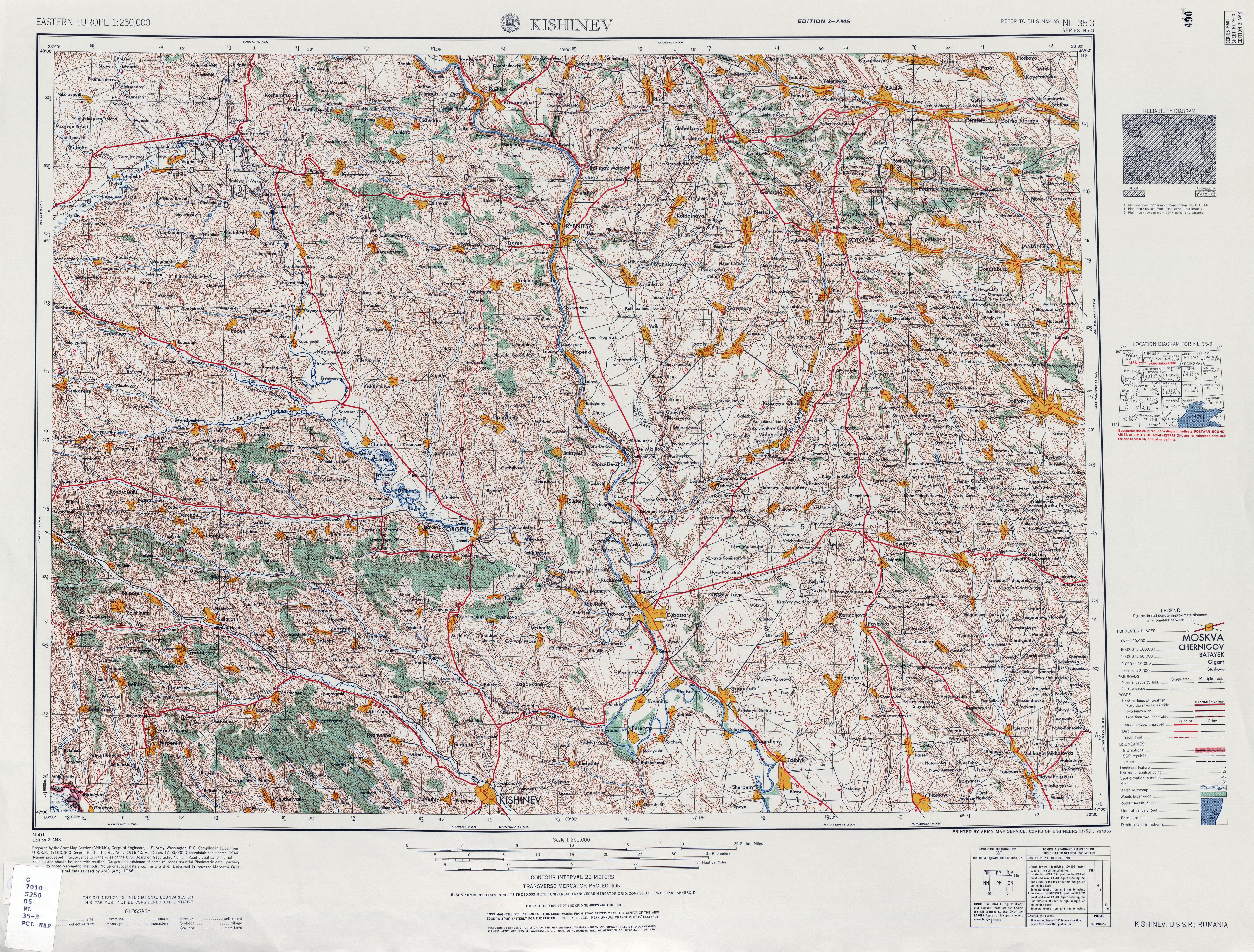 Geografilia Hărți Topografice Romania Moldova și Celelalte
