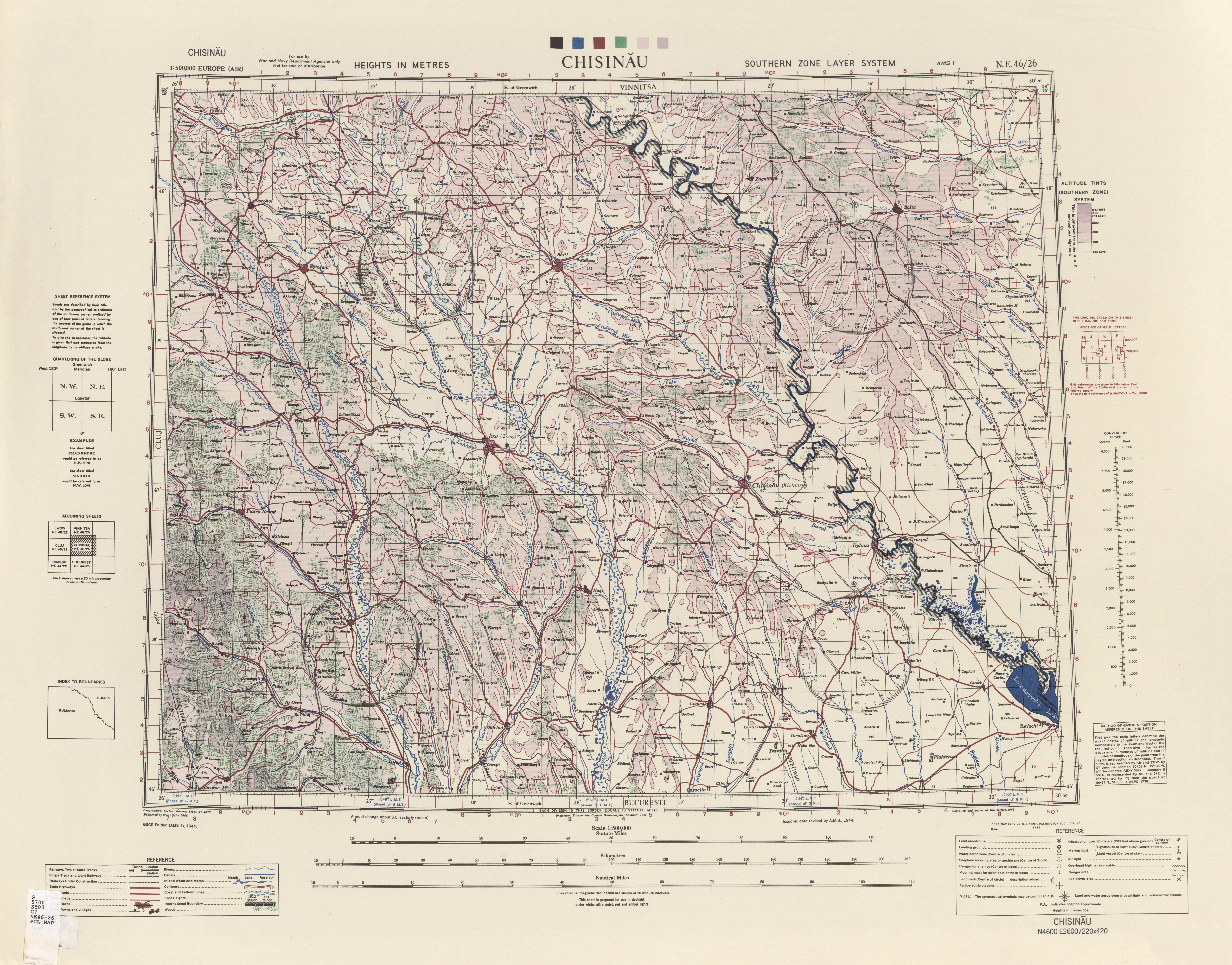 Europe Air Topographic Maps PerryCastaeda Map Collection UT