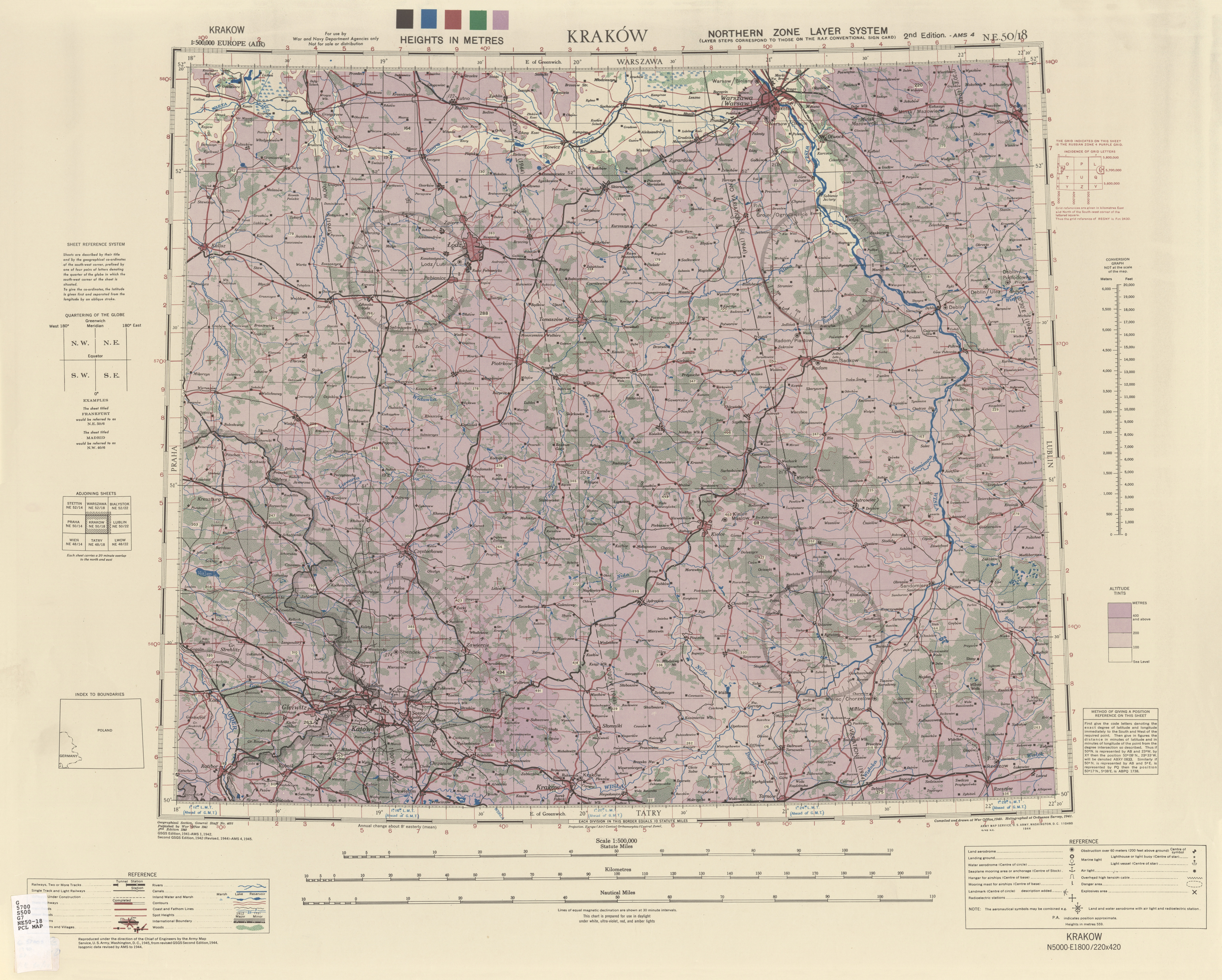 Europe Air Topographic Maps Perry Castaa Eda Map Collection