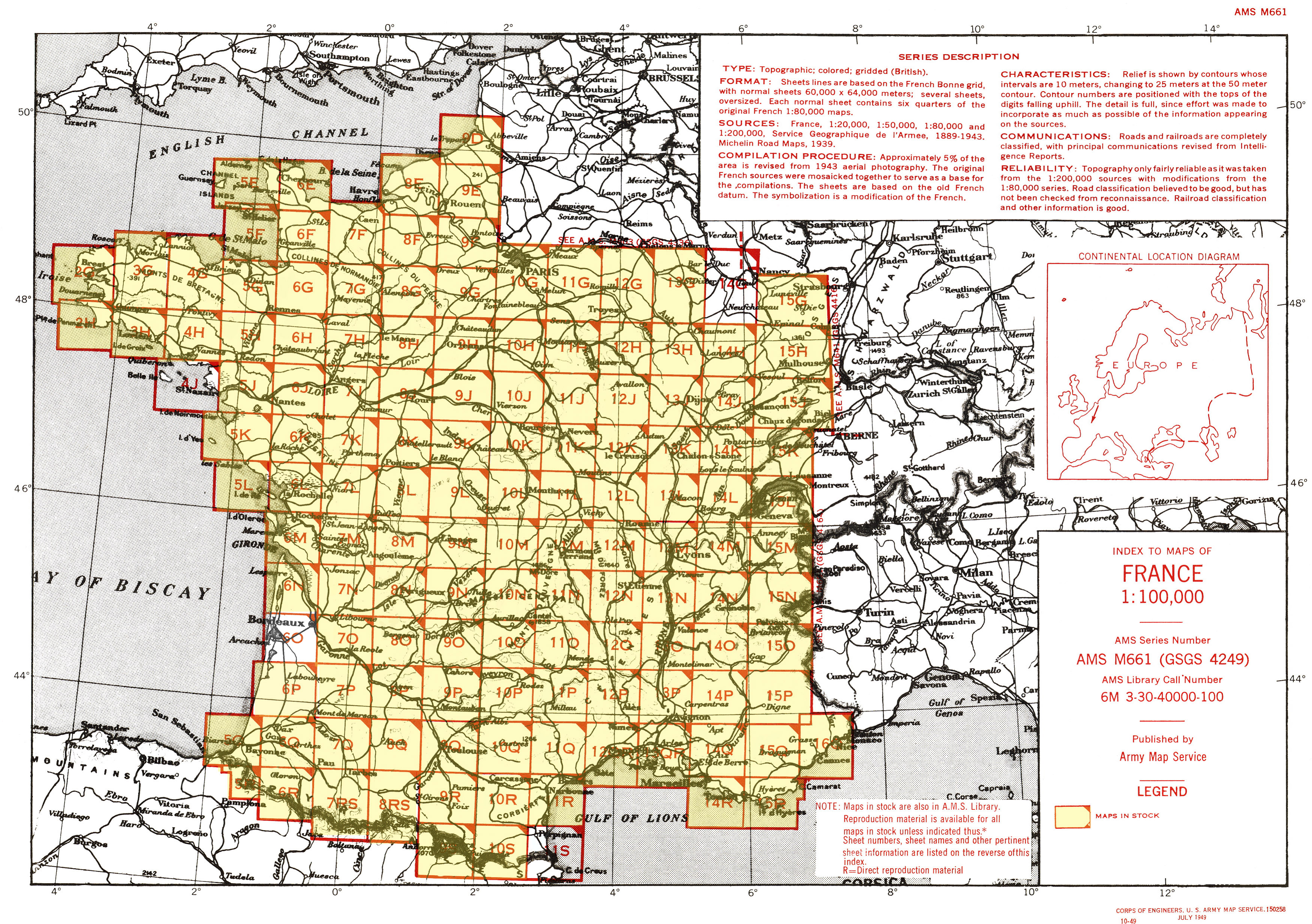 Carpentras France Map.France Ams Topographic Maps Perry Castaneda Map Collection Ut
