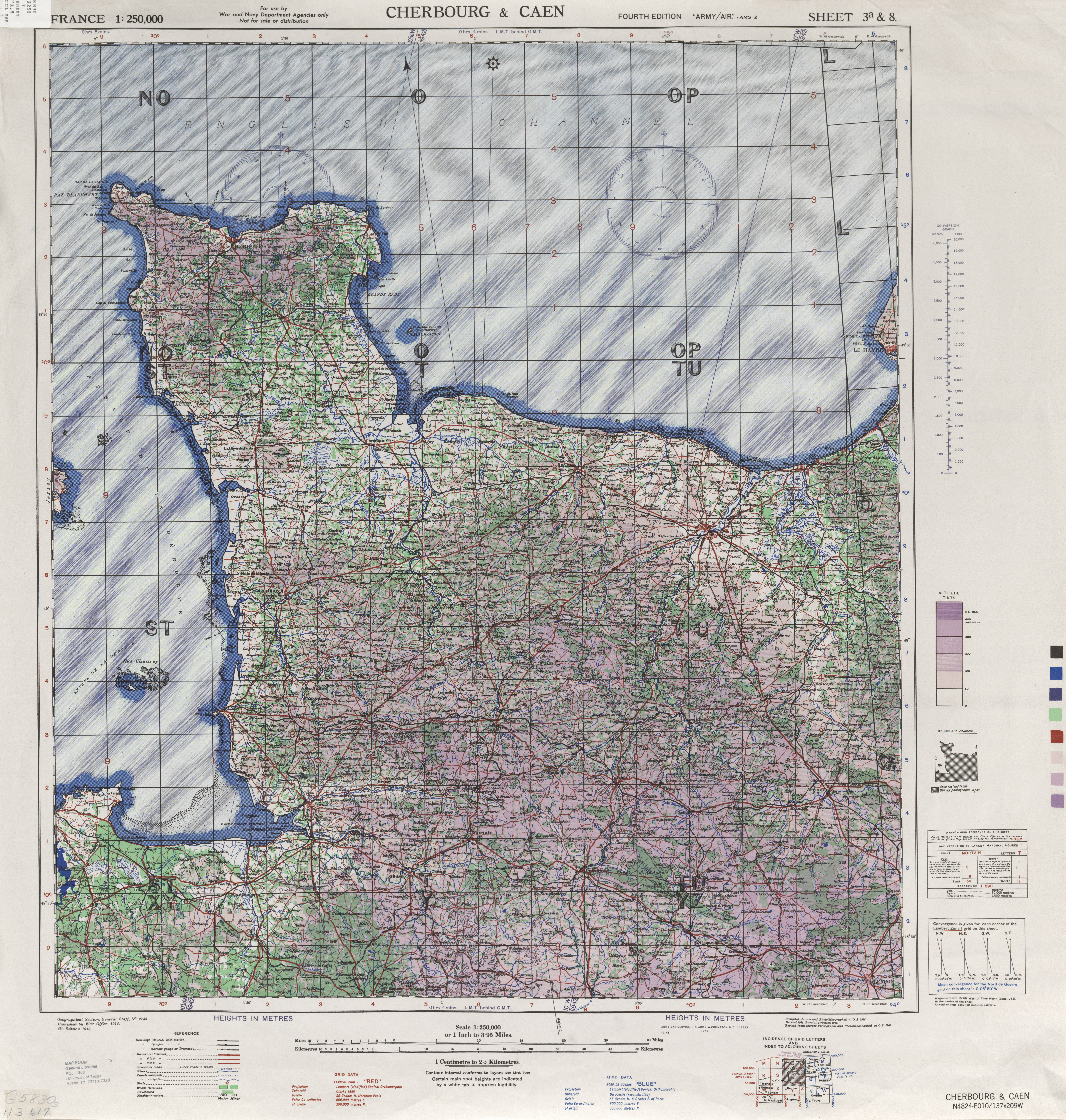 Printable map for normandy ed forums httplibutexasmapsamset france 3g gumiabroncs Image collections