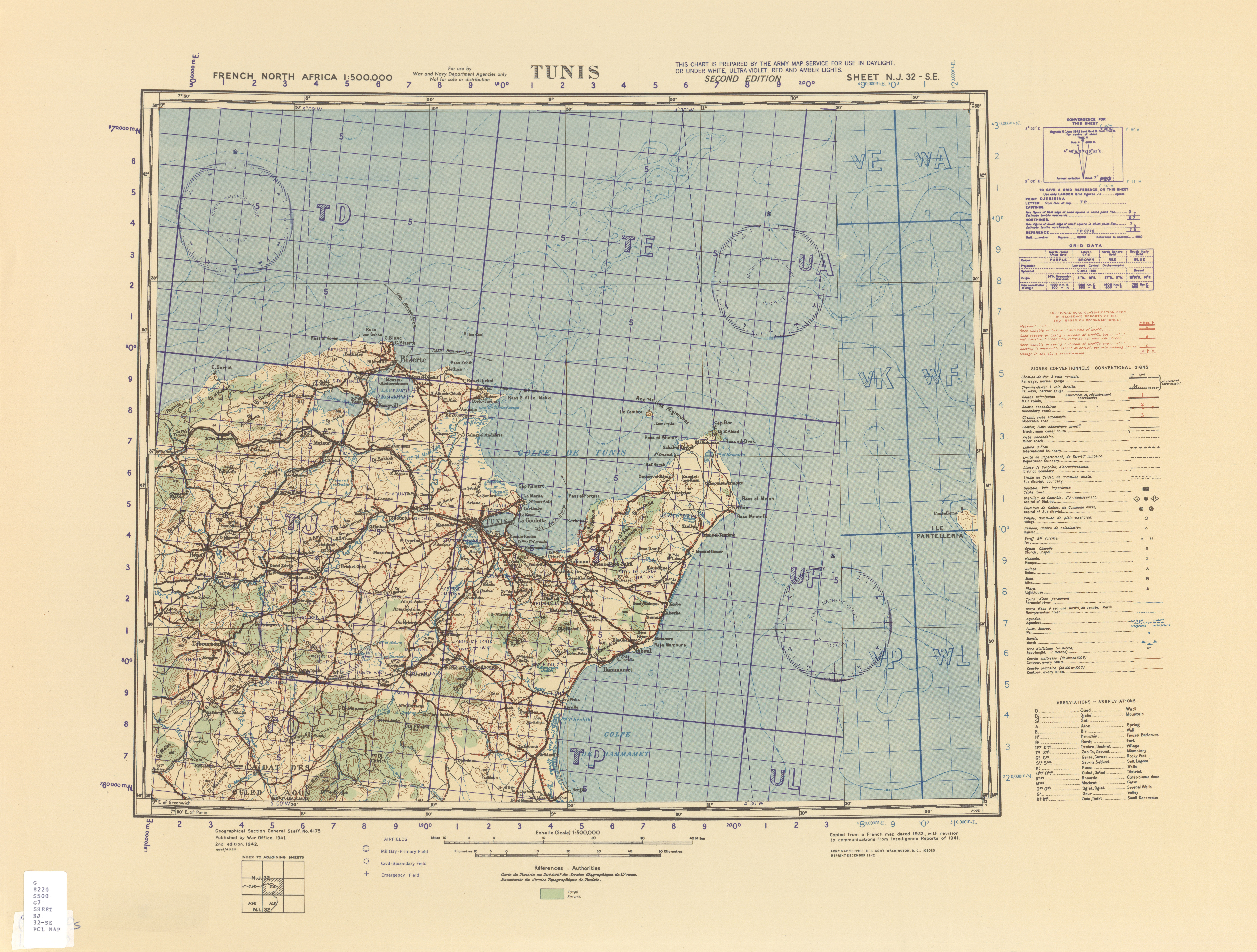 palmyra north africa map