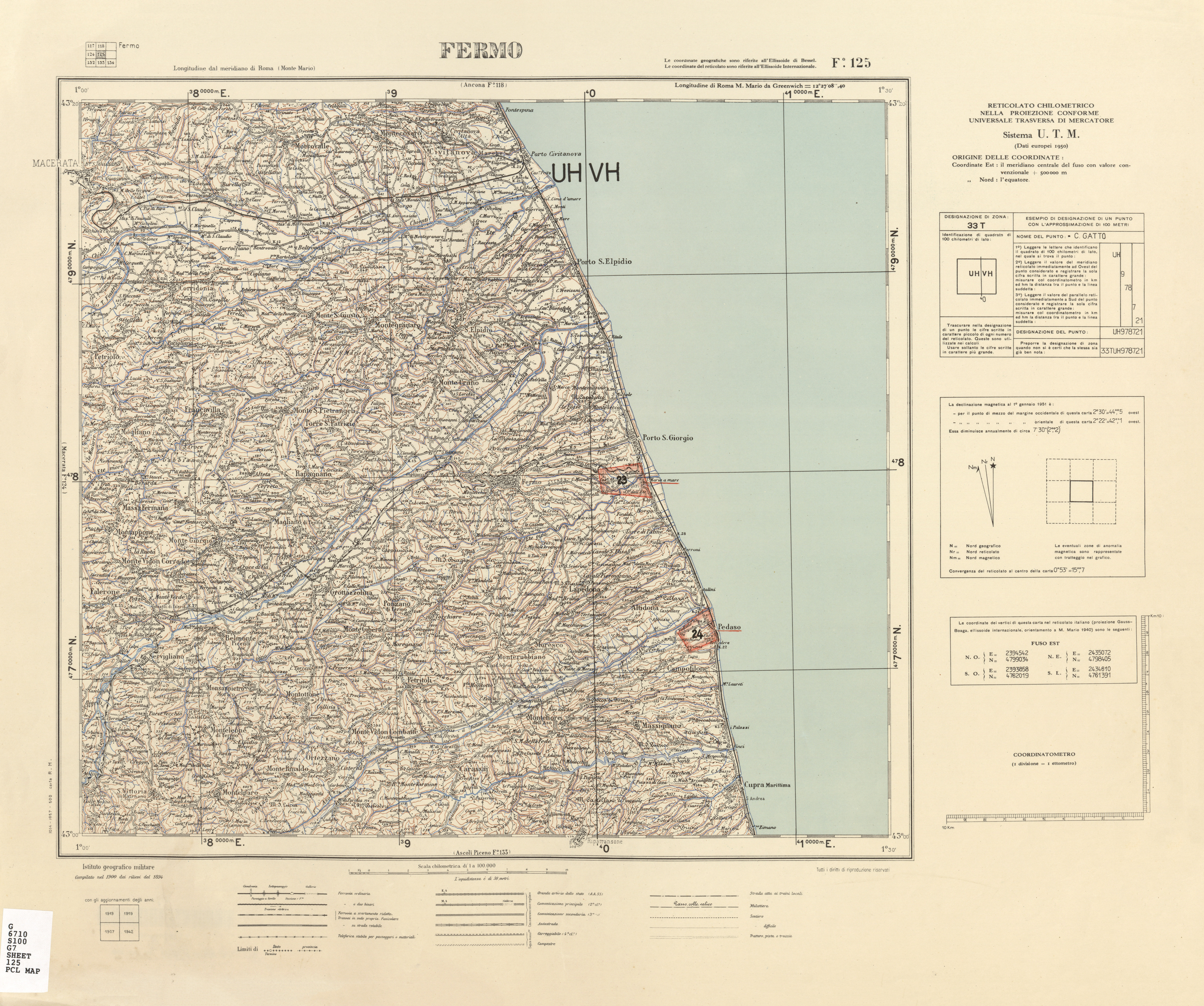 Cartina Igm Puglia.Igm