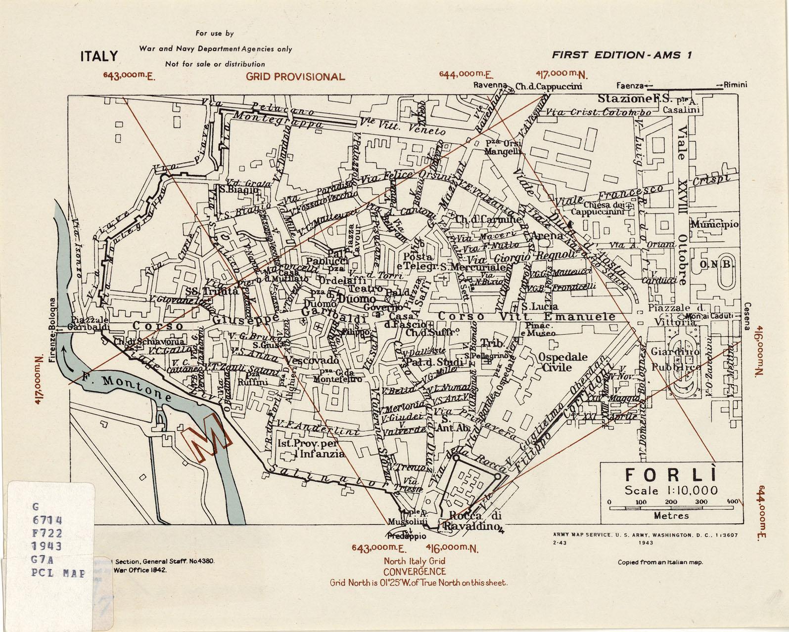 Forli Italy Map.Forli Italy Map