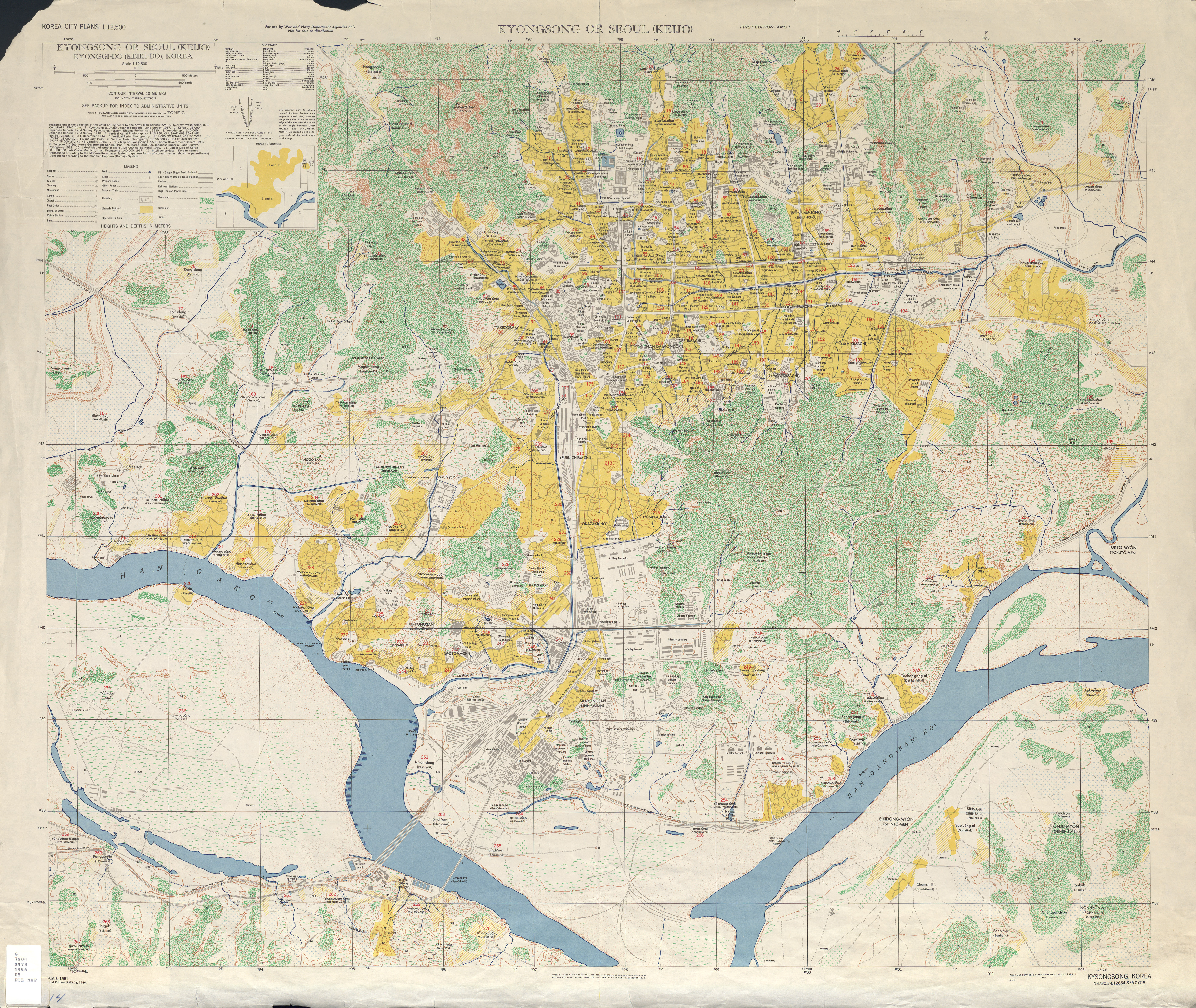 Korea City Plans - Perry-Castañeda Map Collection - UT Library Online