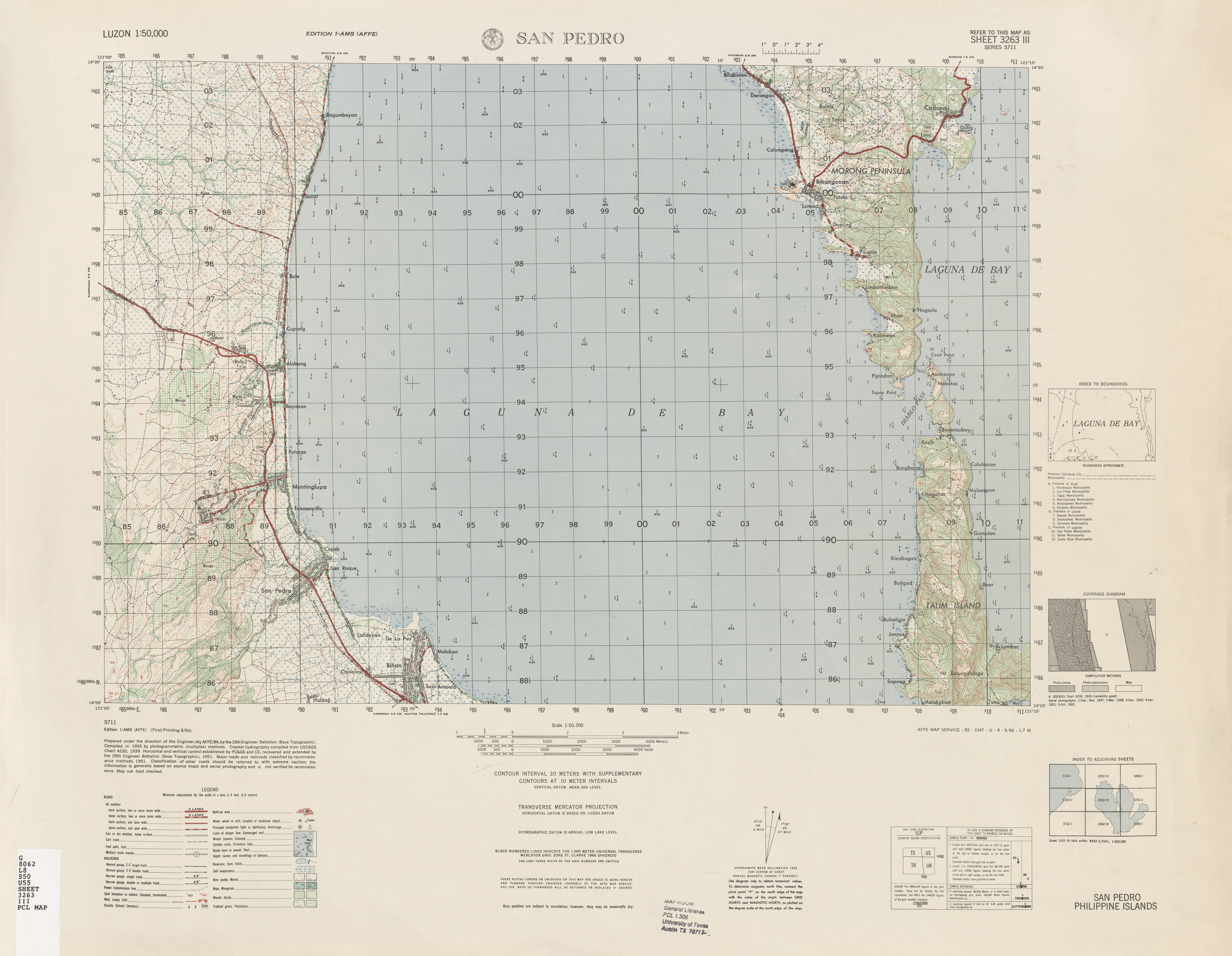 Luzon AMS Topographic Maps - Perry-Castañeda Map Collection - UT ...