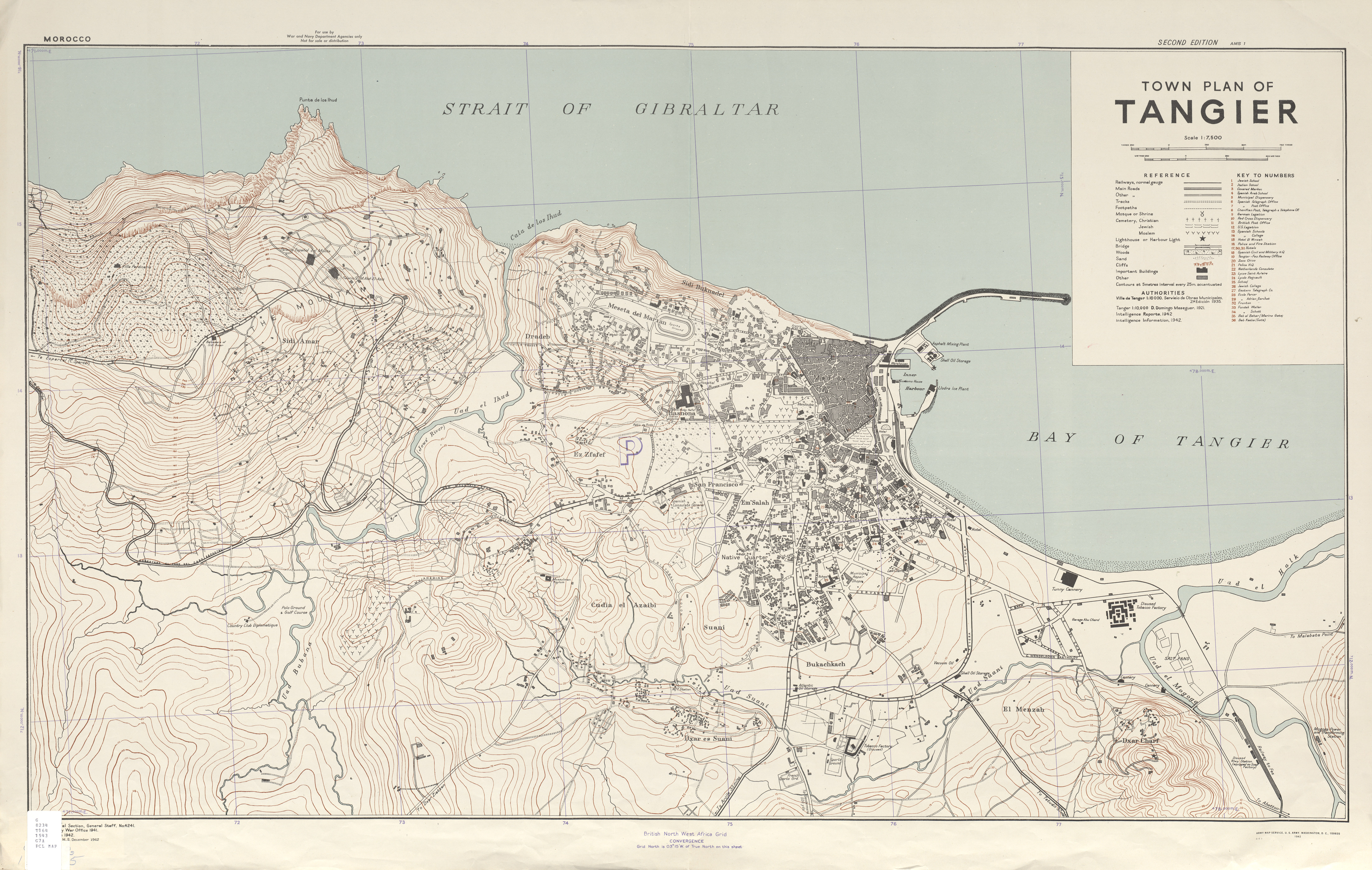 Morocco City Plans PerryCastaeda Map Collection UT Library Online