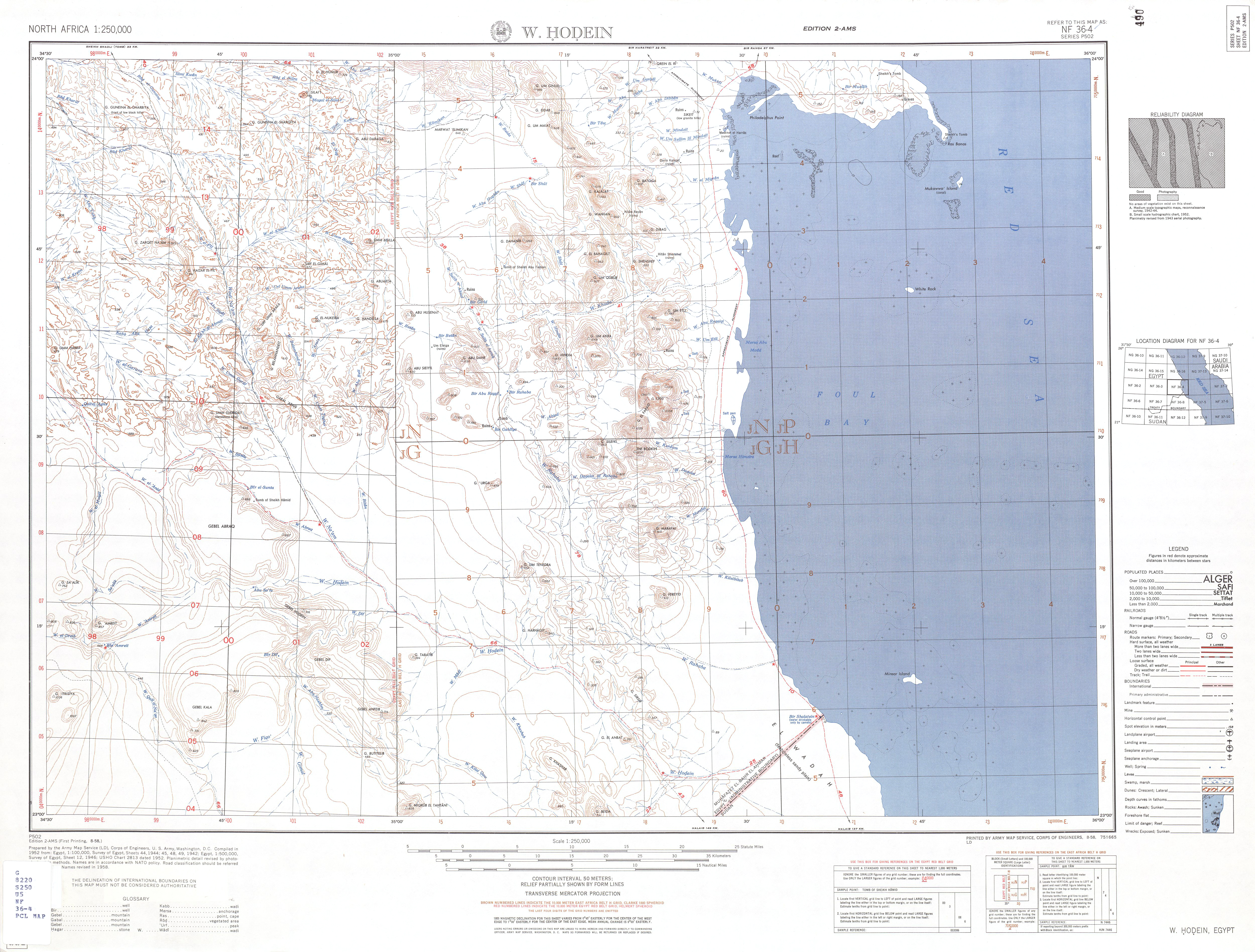 North Africa AMS Topographic Maps - Perry-Castañeda Map Collection