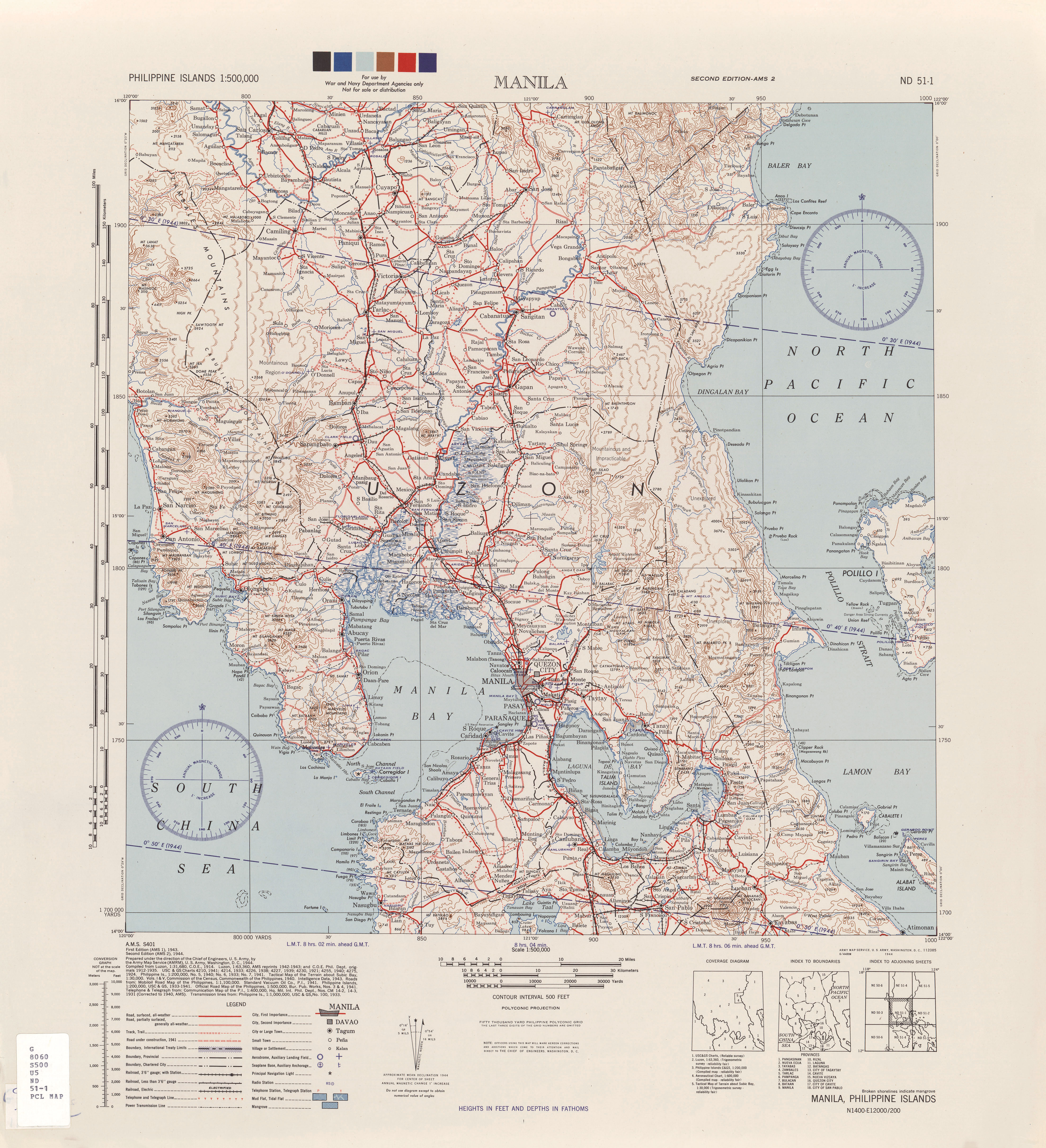 Panay Island Topographic Map