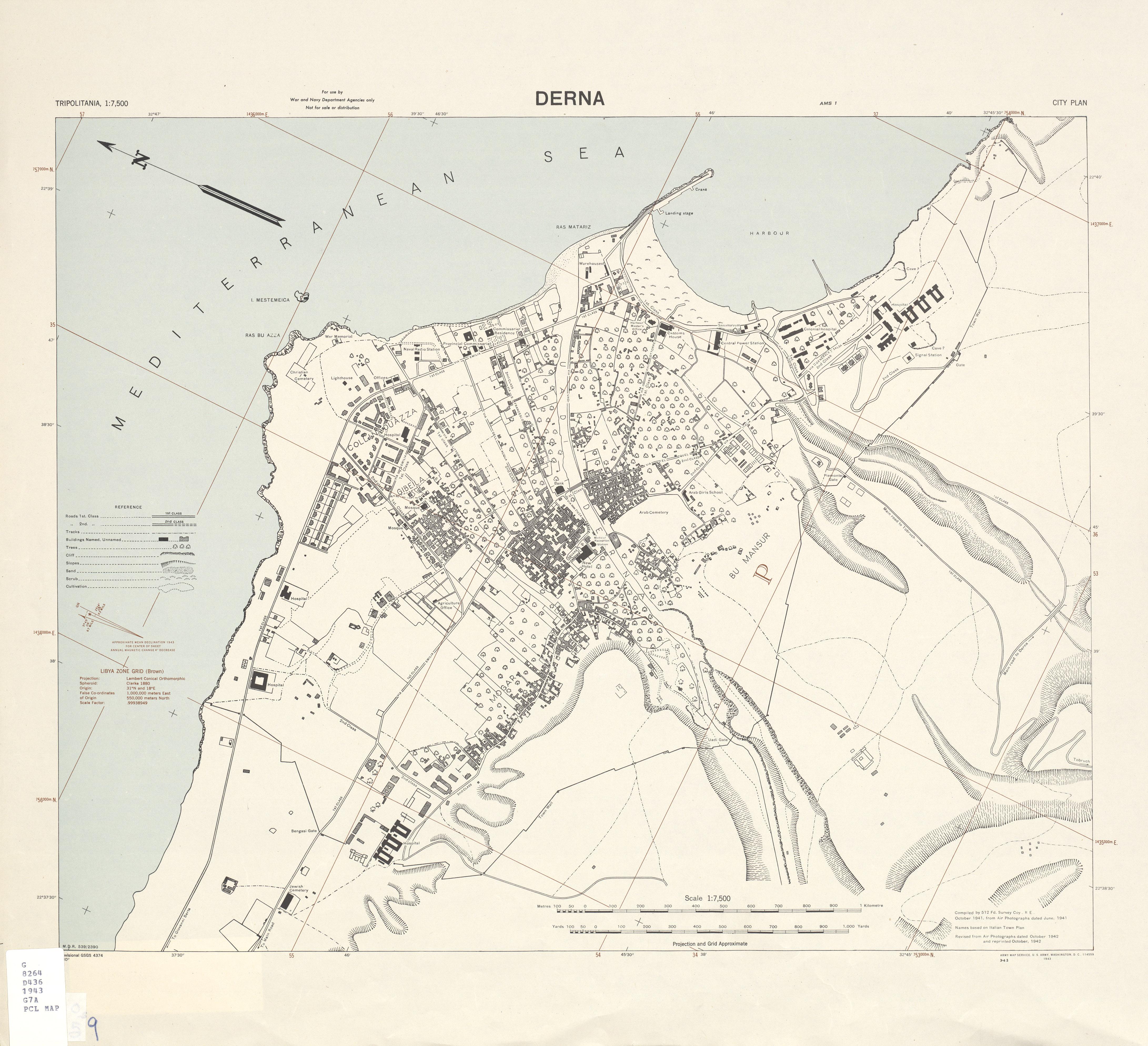 Tripolitania (Libya) City Plans - Perry-Castañeda Map Collection ...