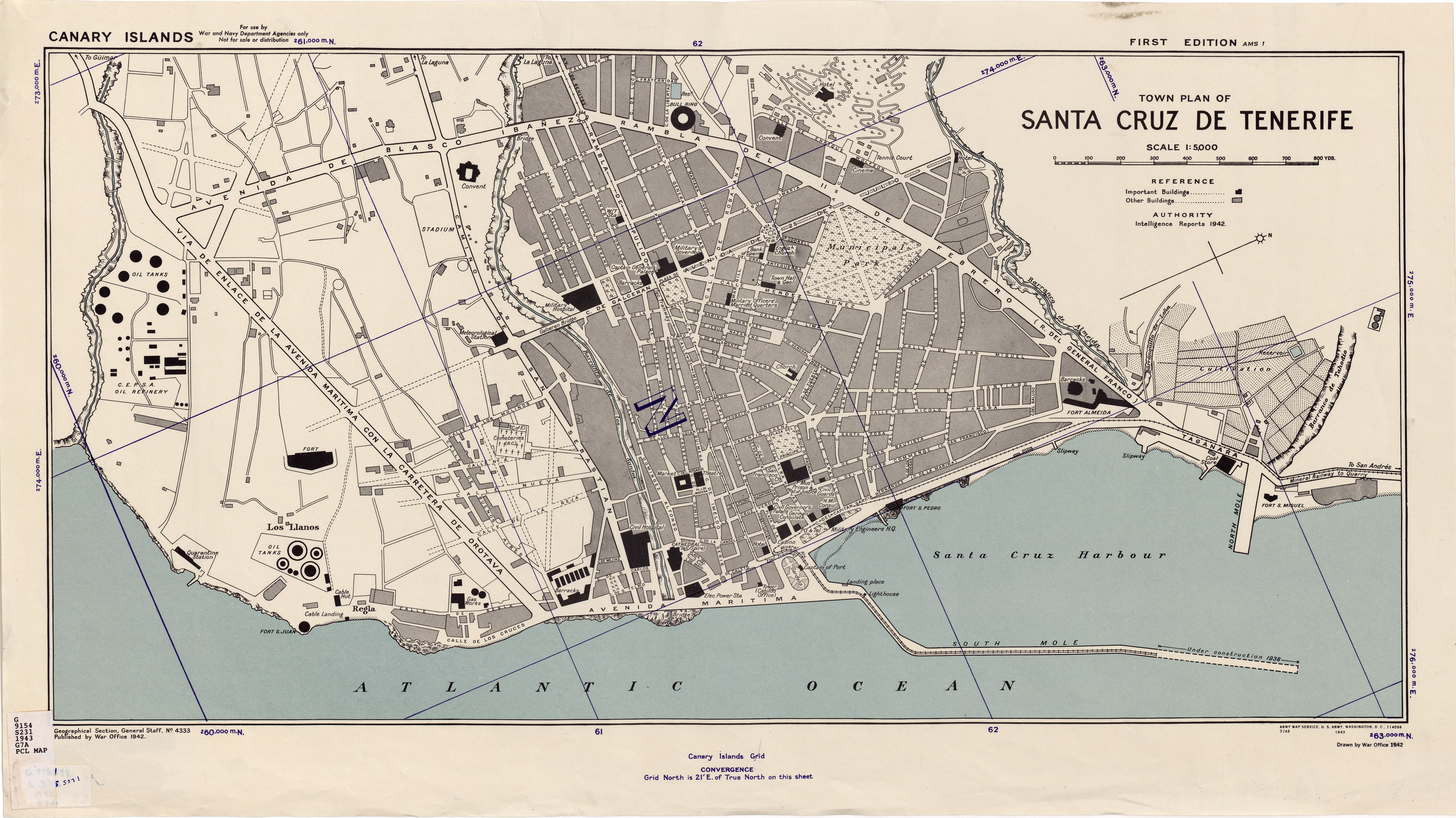 Canary Islands Maps PerryCastaeda Map Collection UT Library Online