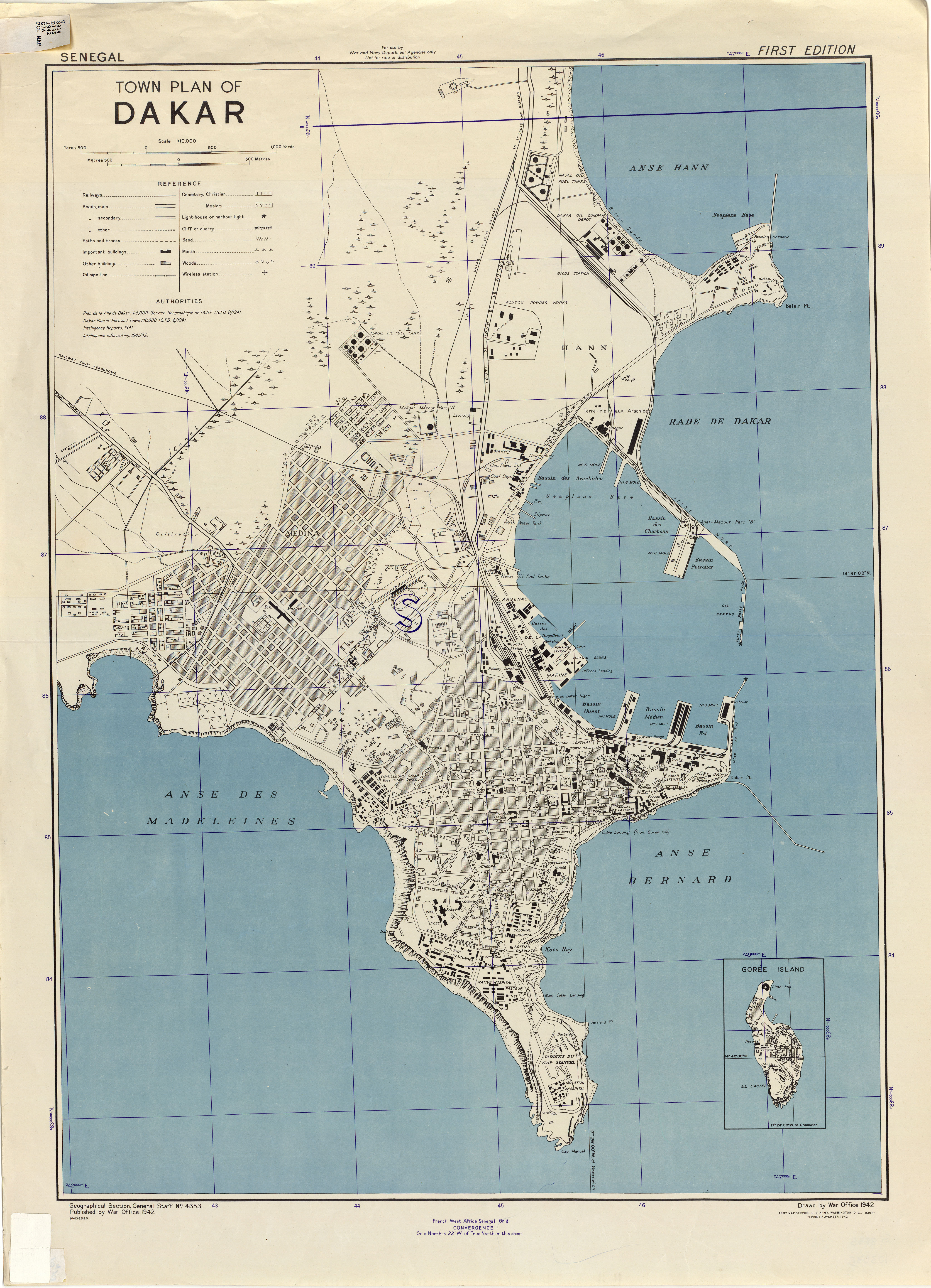 Senegal Maps - Perry-Castañeda Map Collection - UT Liry Online on