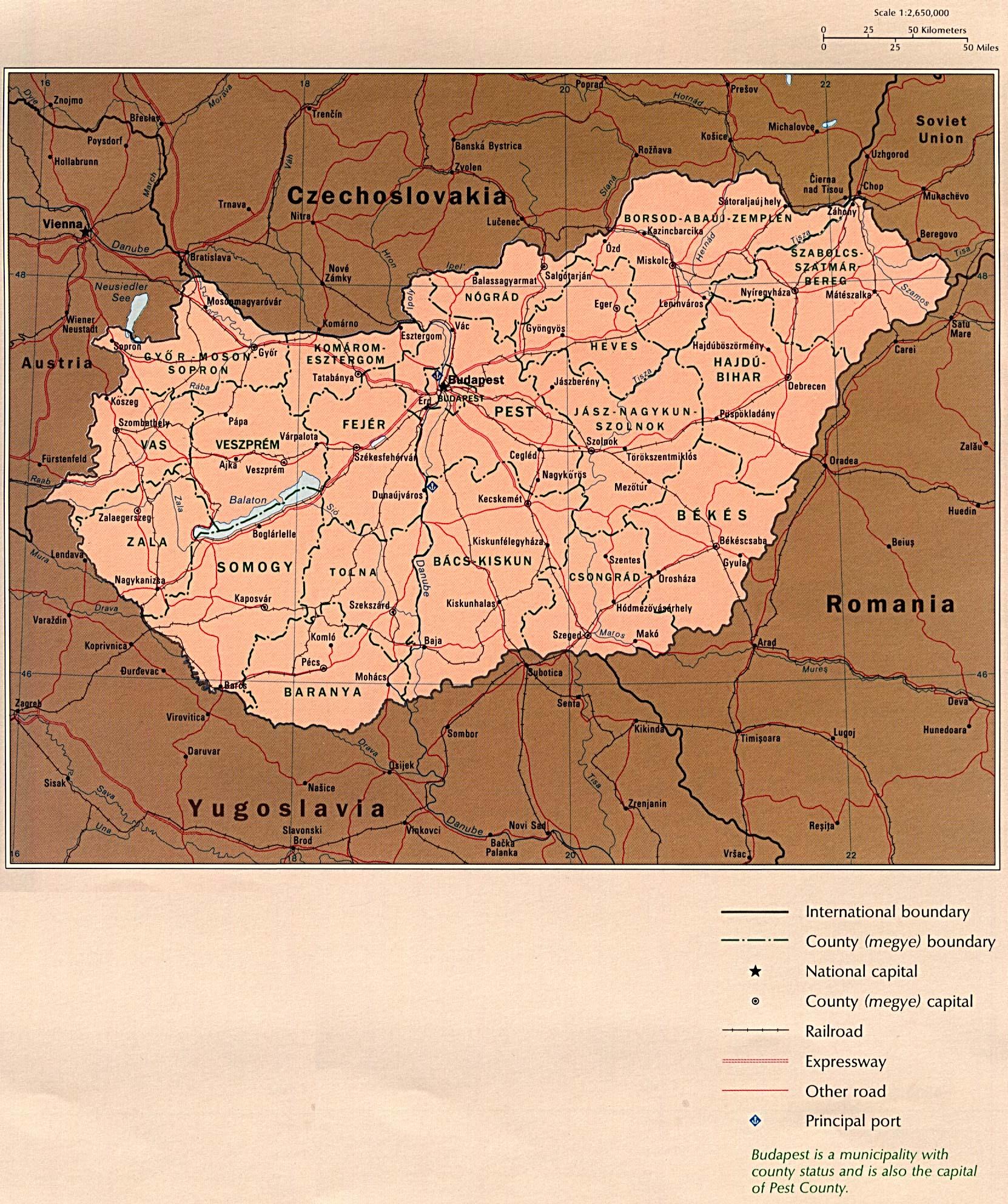 Atlas of Eastern Europe Perry Castaeda Map