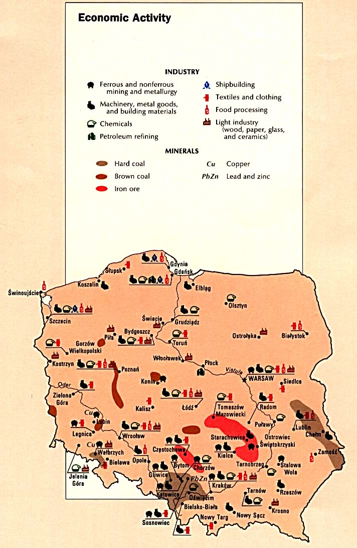 Atlas Of Eastern Europe PerryCastañeda Map Collection UT - Germany map natural resources