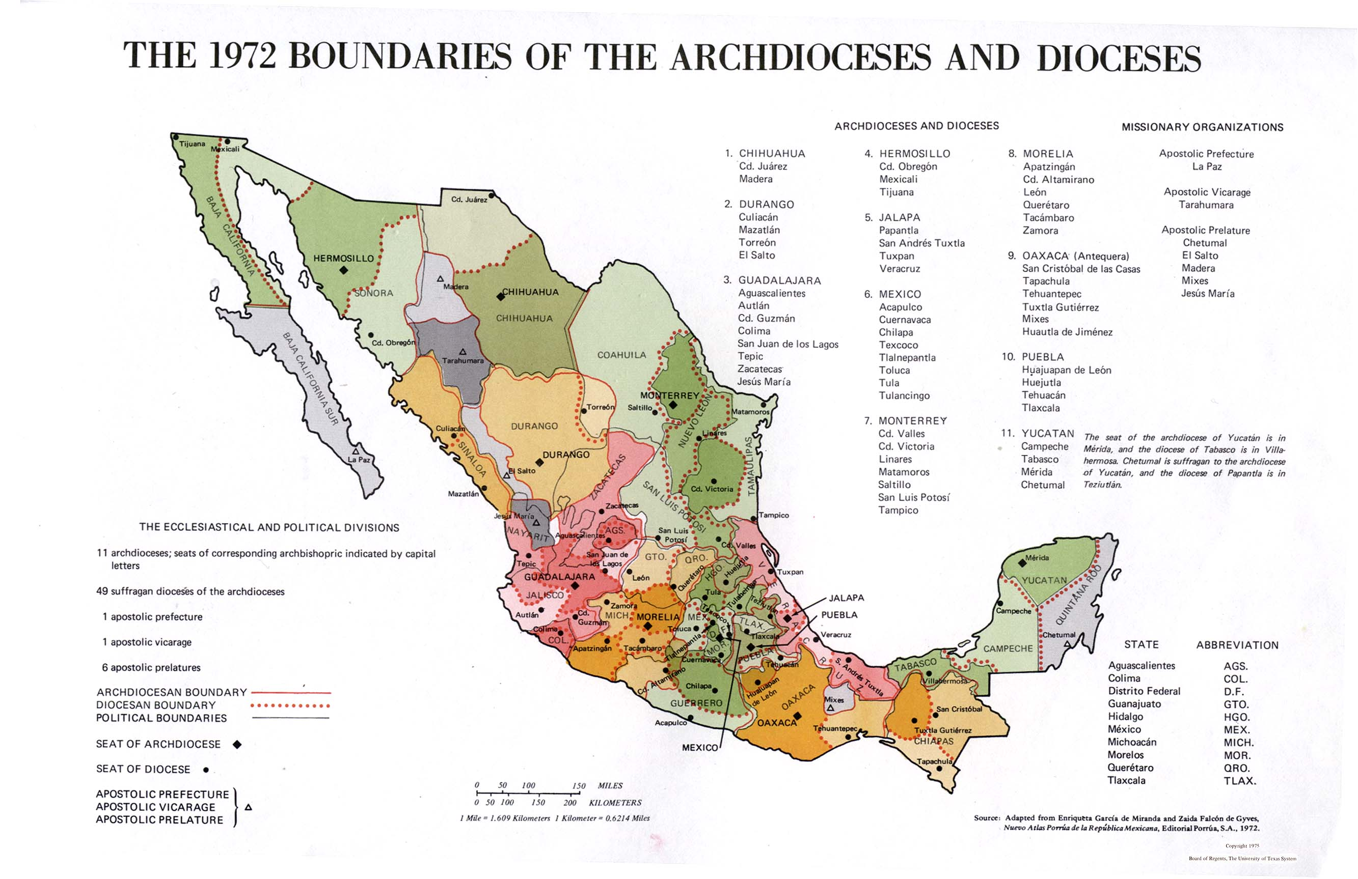 Mexico Maps Perry Castaneda Map Collection Ut Library Online