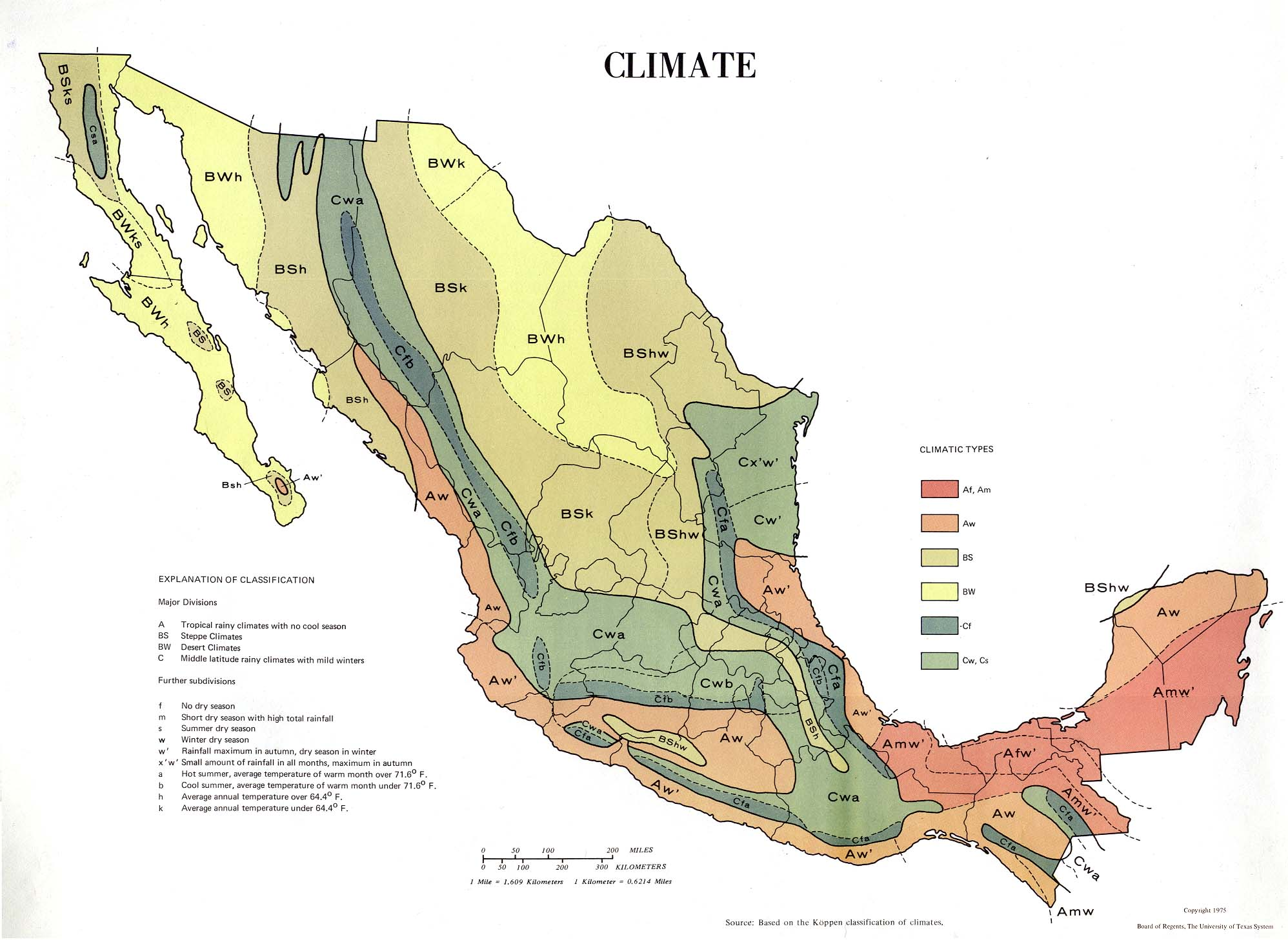 Mexico Physical Geography