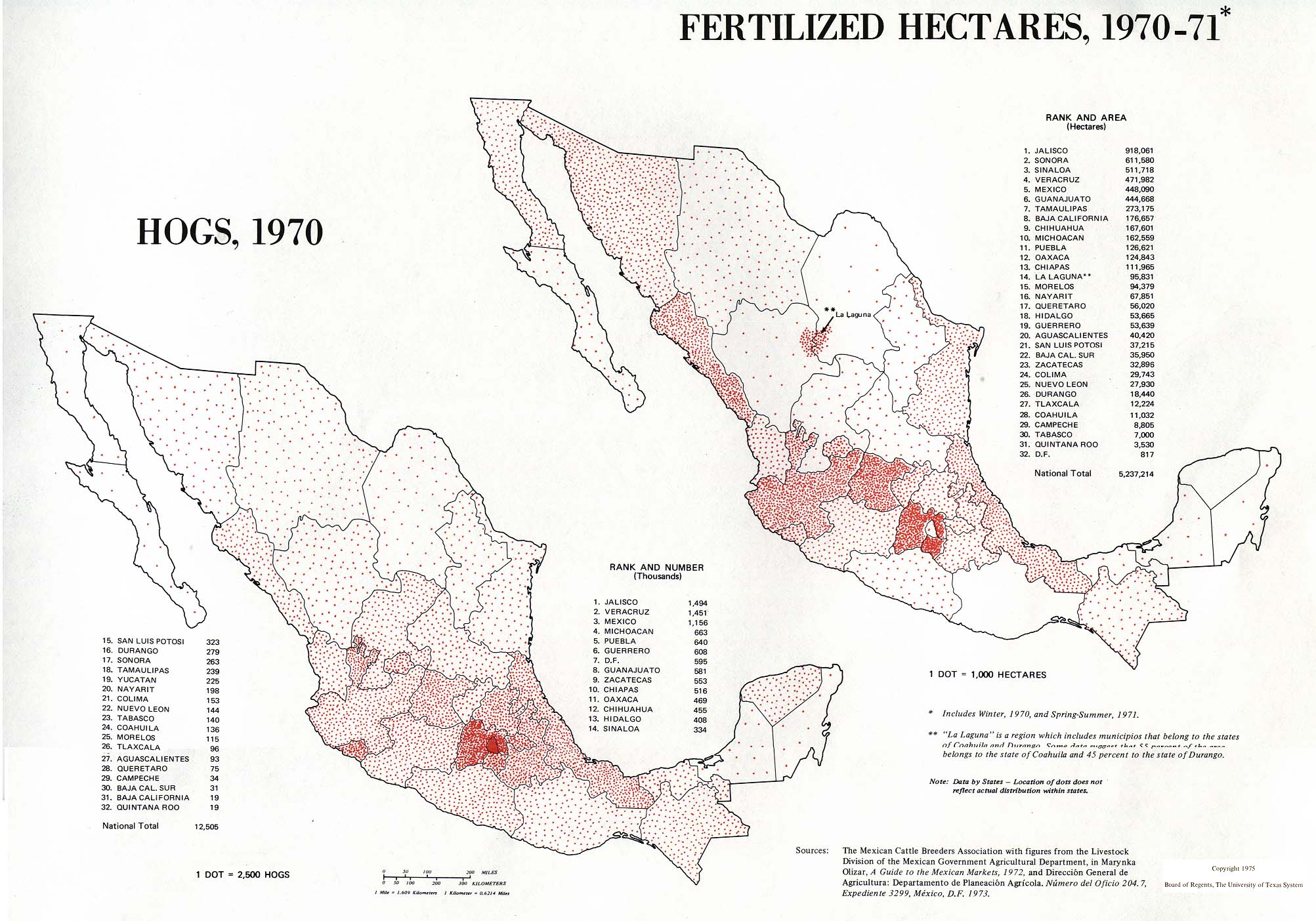 Atlas Of Mexico Perry Castaneda Map Collection Ut Library Online