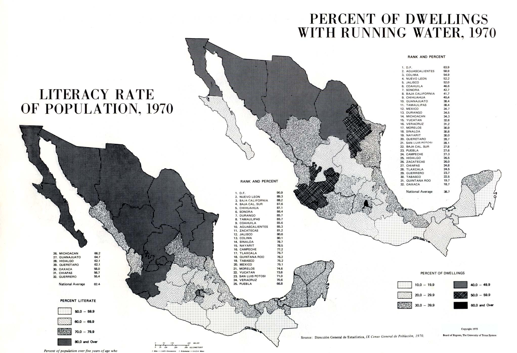 Atlas of Mexico - Perry-Castañeda Map Collection - UT