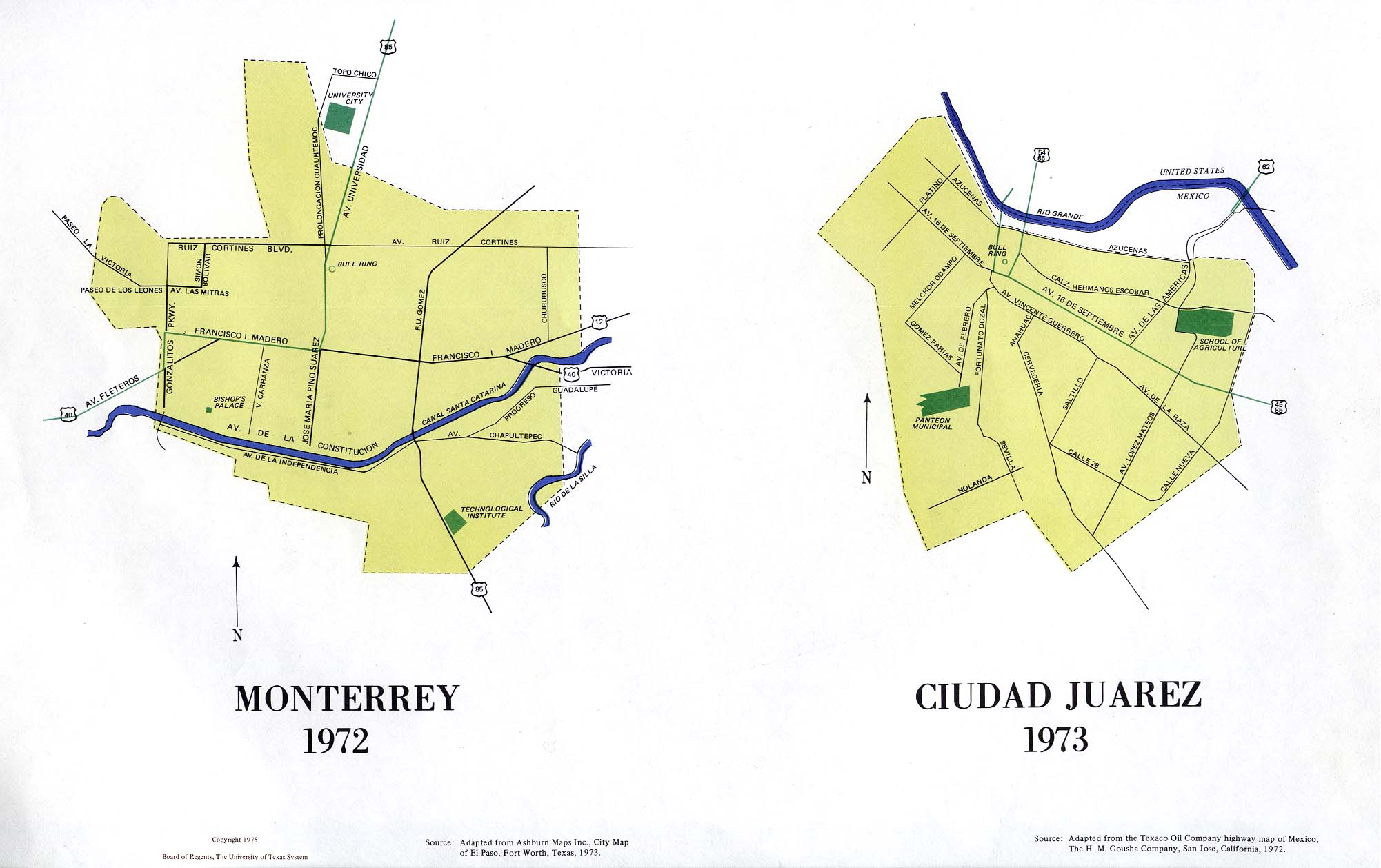 Monterrey Weather Station Record - Historical weather for ... |Old Monterrey Mexico Map