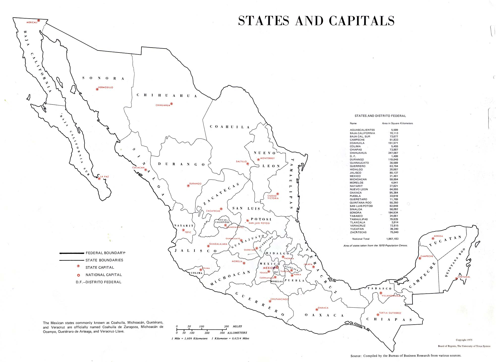 It's just a photo of Comprehensive Printable Map of Mexico