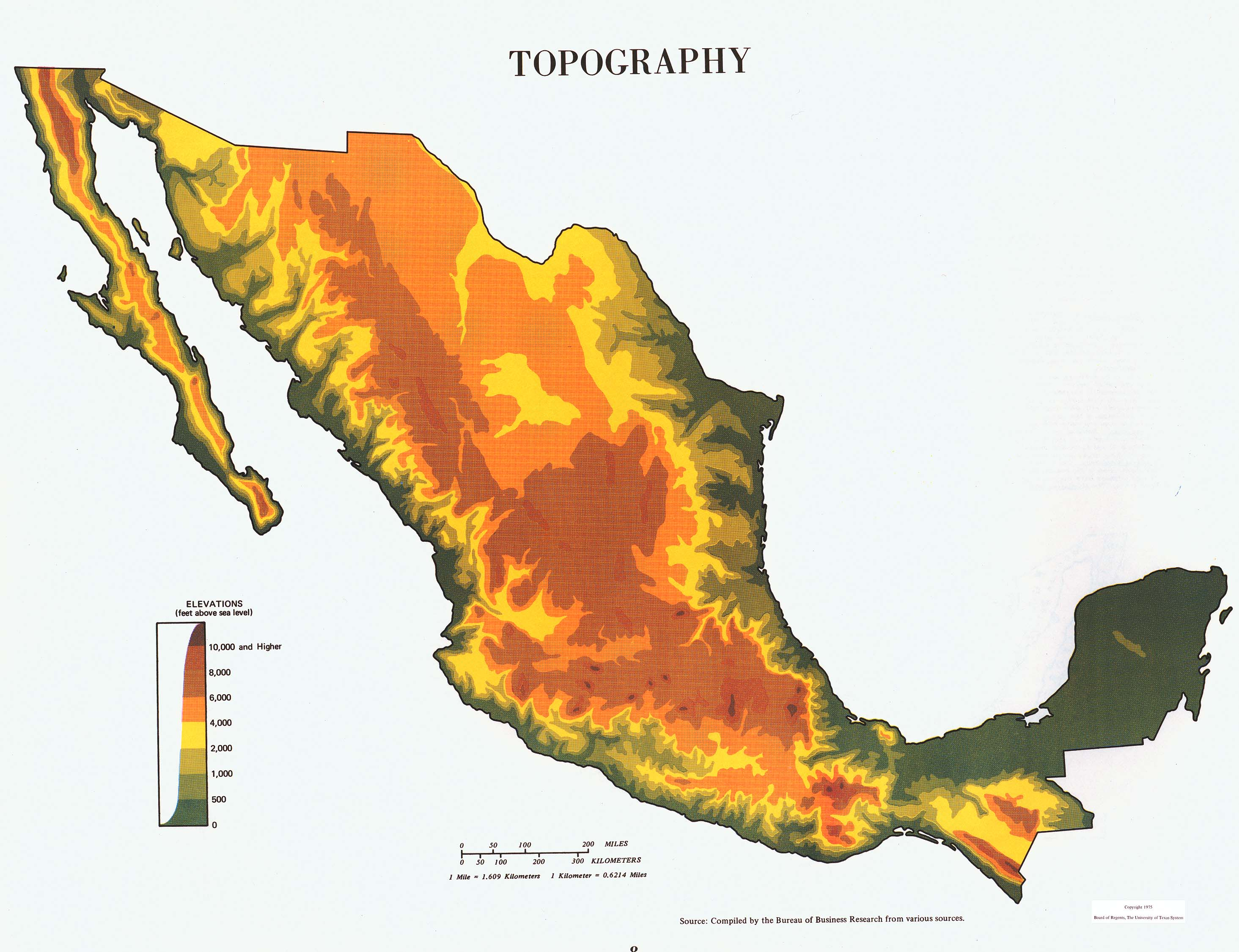 Atlas of Mexico PerryCastaeda Map Collection UT Library Online