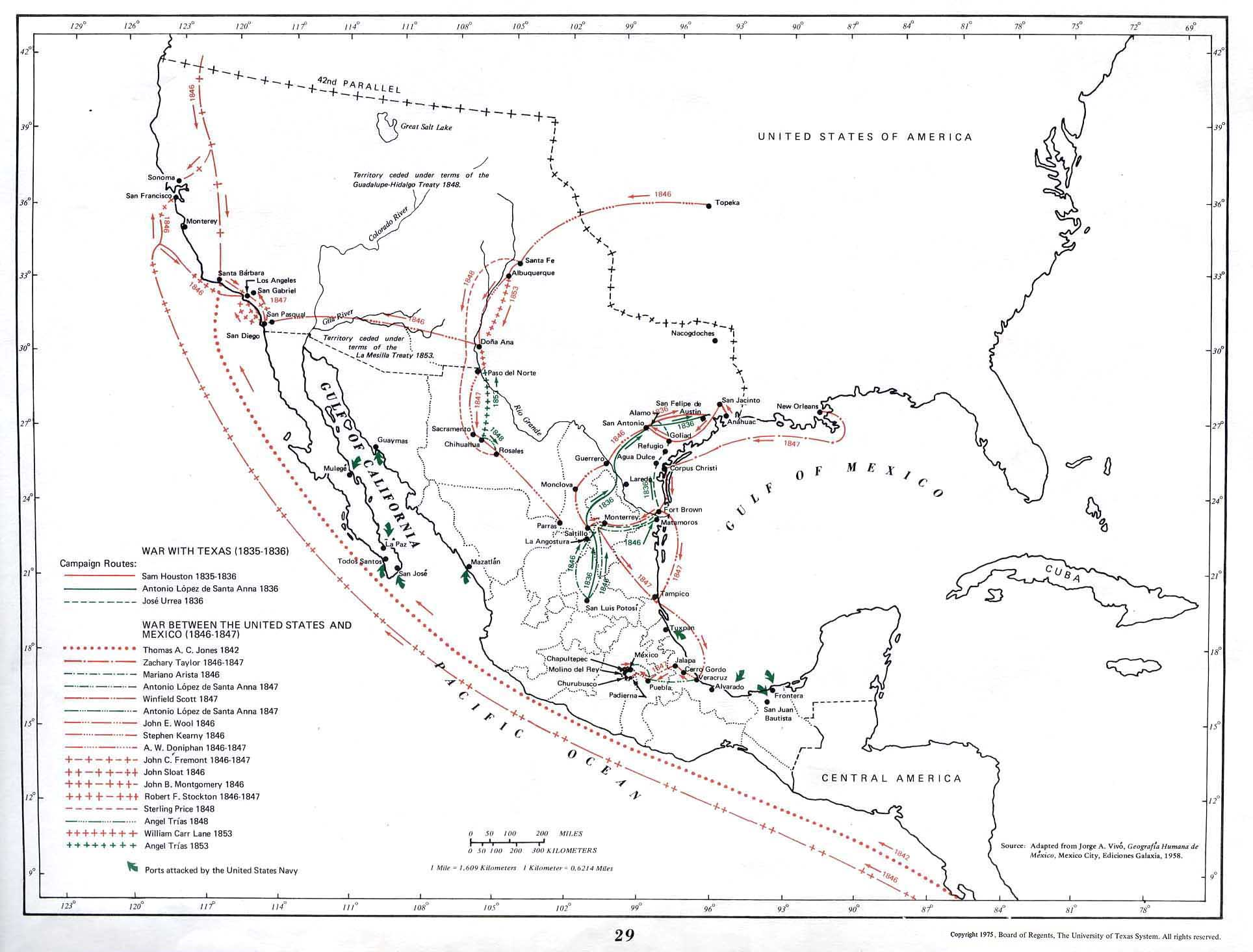 Mexico Maps PerryCastaeda Map Collection UT Library Online