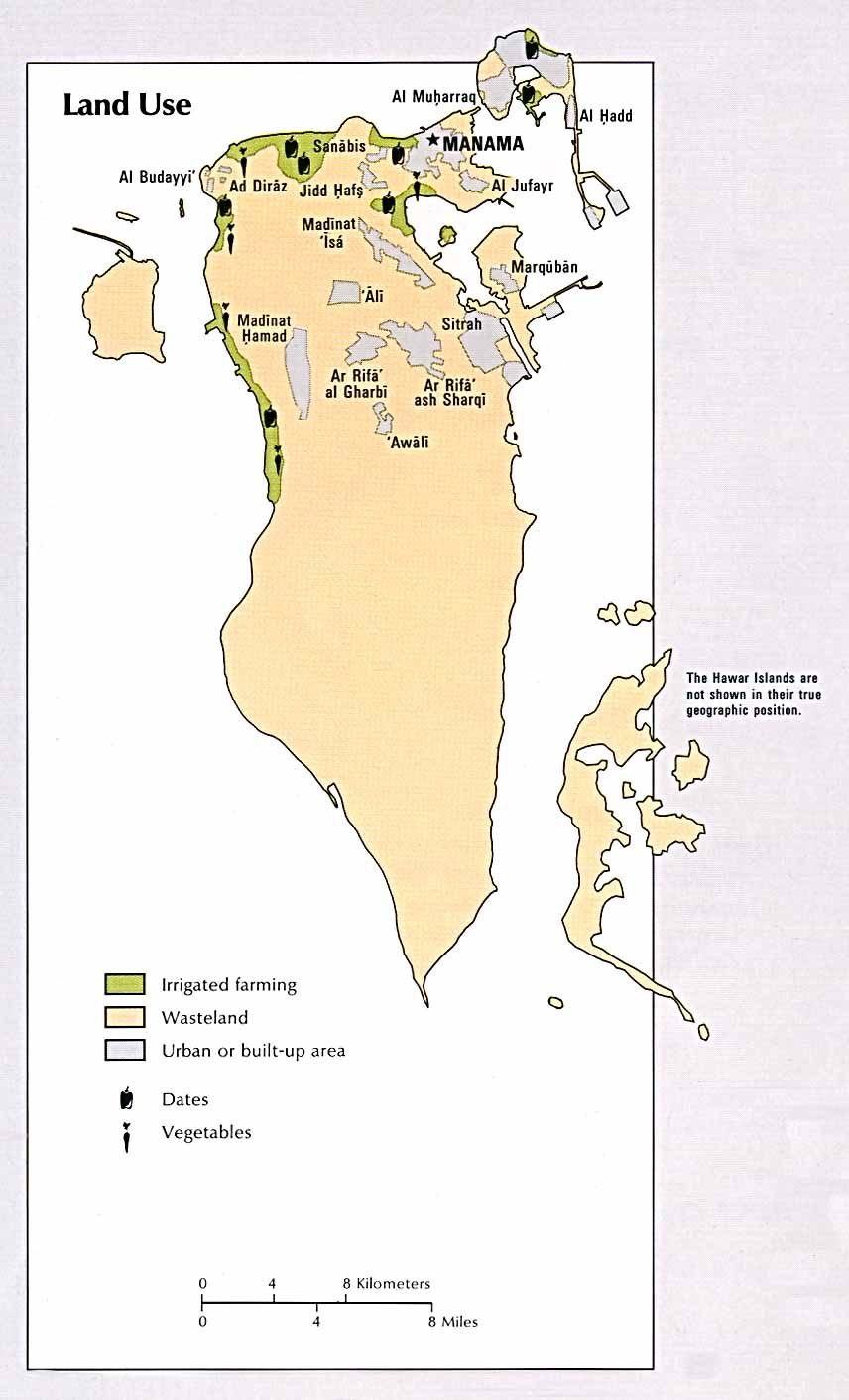 Atlas Of The Middle East PerryCastañeda Map Collection UT - Bahrain interactive map
