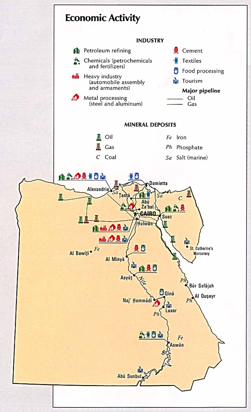 Maps Of The Arab World - Map of egypt and uae