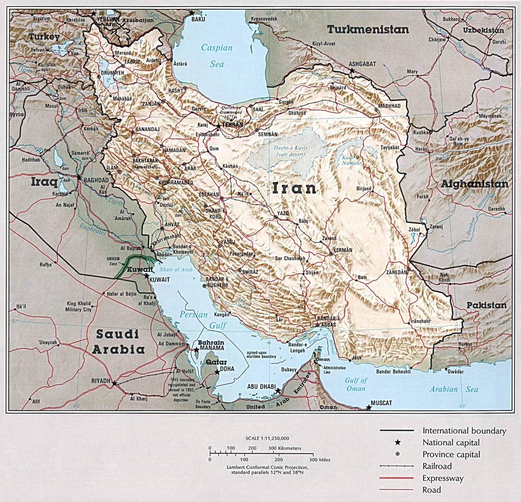 Atlas of the Middle East - Perry-Castañeda Map Collection