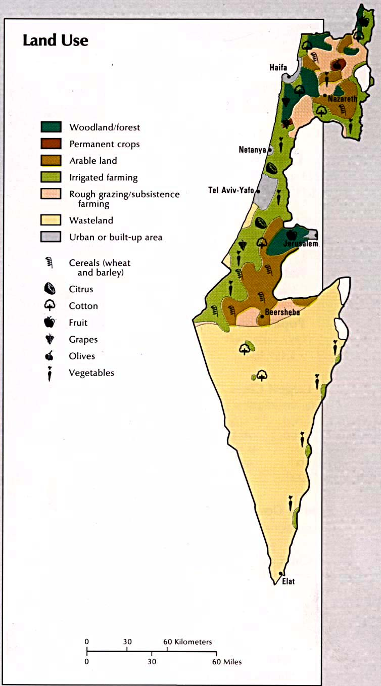 Israel Maps PerryCastañeda Map Collection UT Library Online - Us map of economic resources 2016