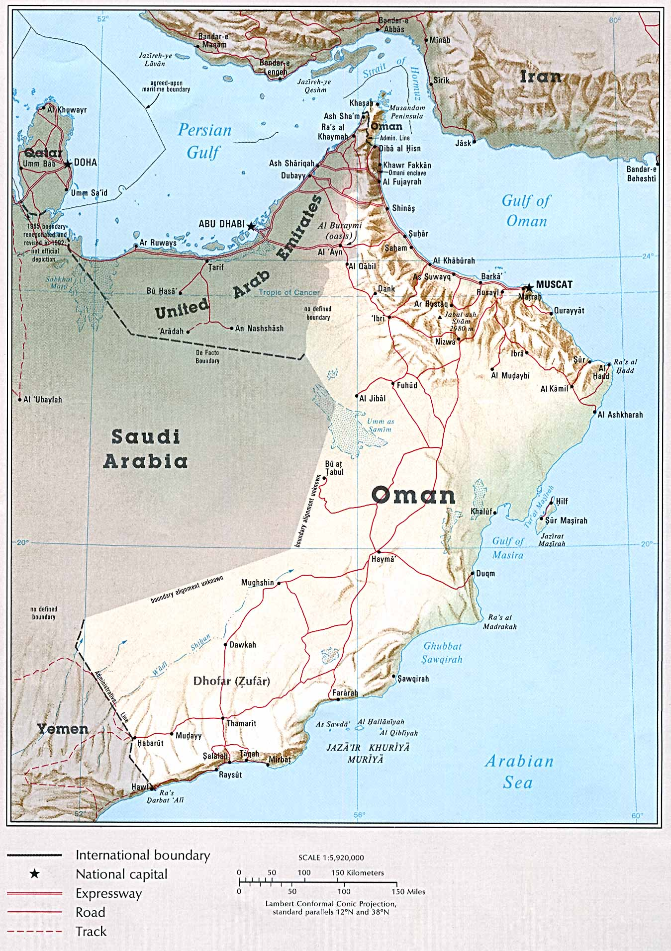Maps Update 12001507 Map Uae and Oman Political Map of Oman – Map of Oman and Uae